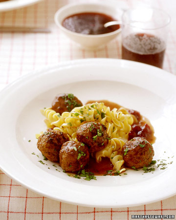 Swedish Meatballs Menu