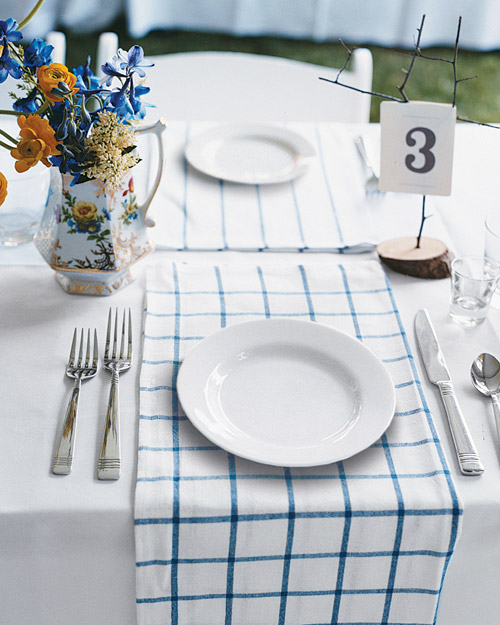 Double-Duty Place Mats