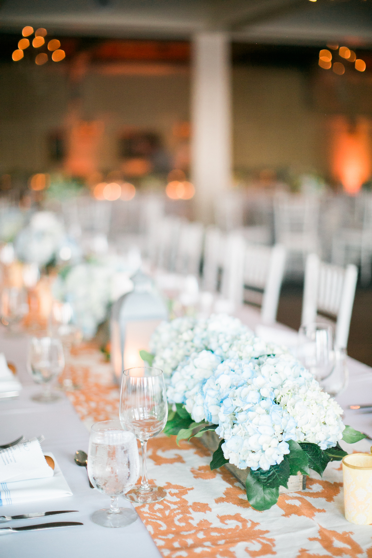 hydrangea wedding centerpieces