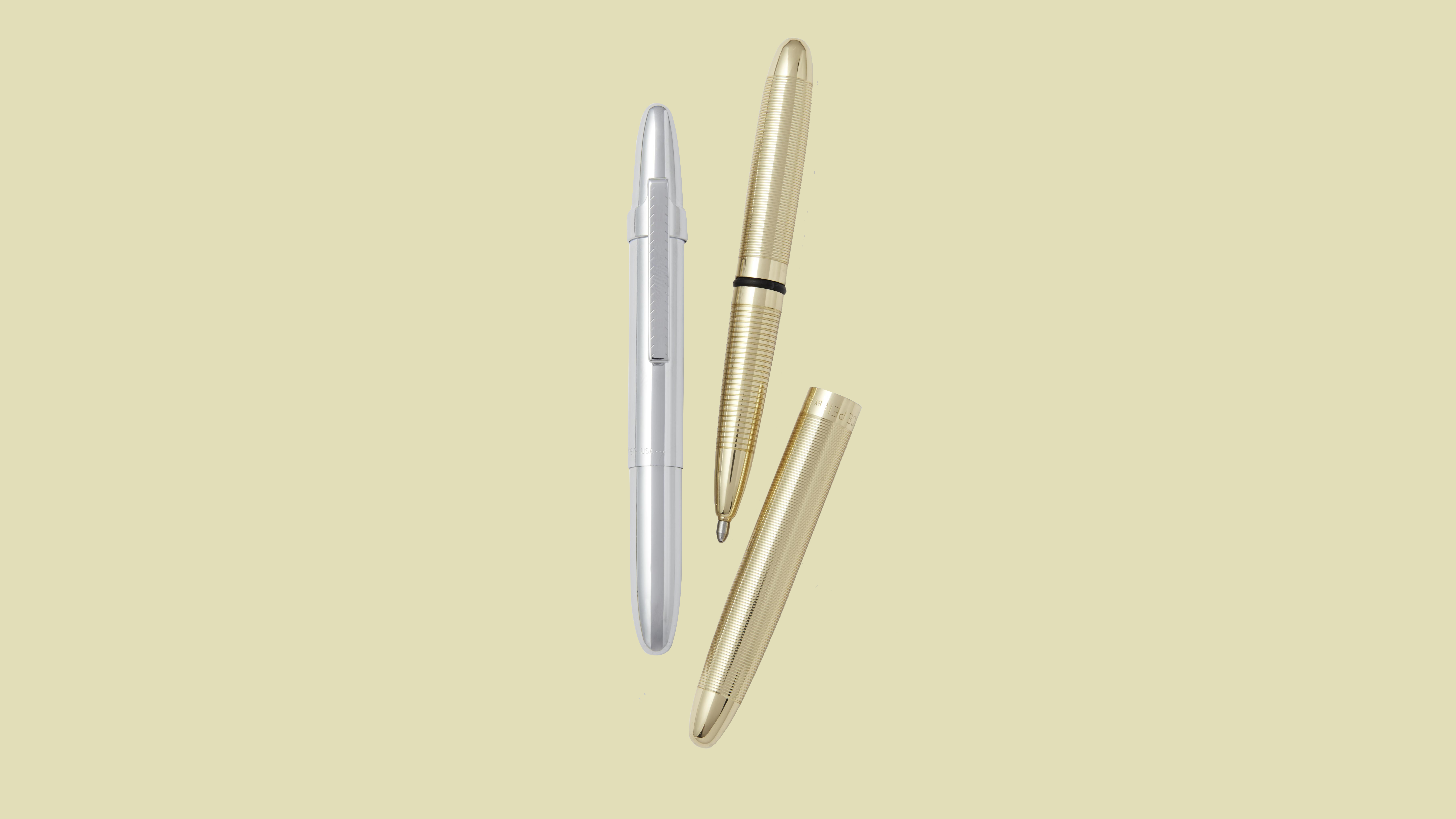 Fisher Raw Brass Bullet Space Pen