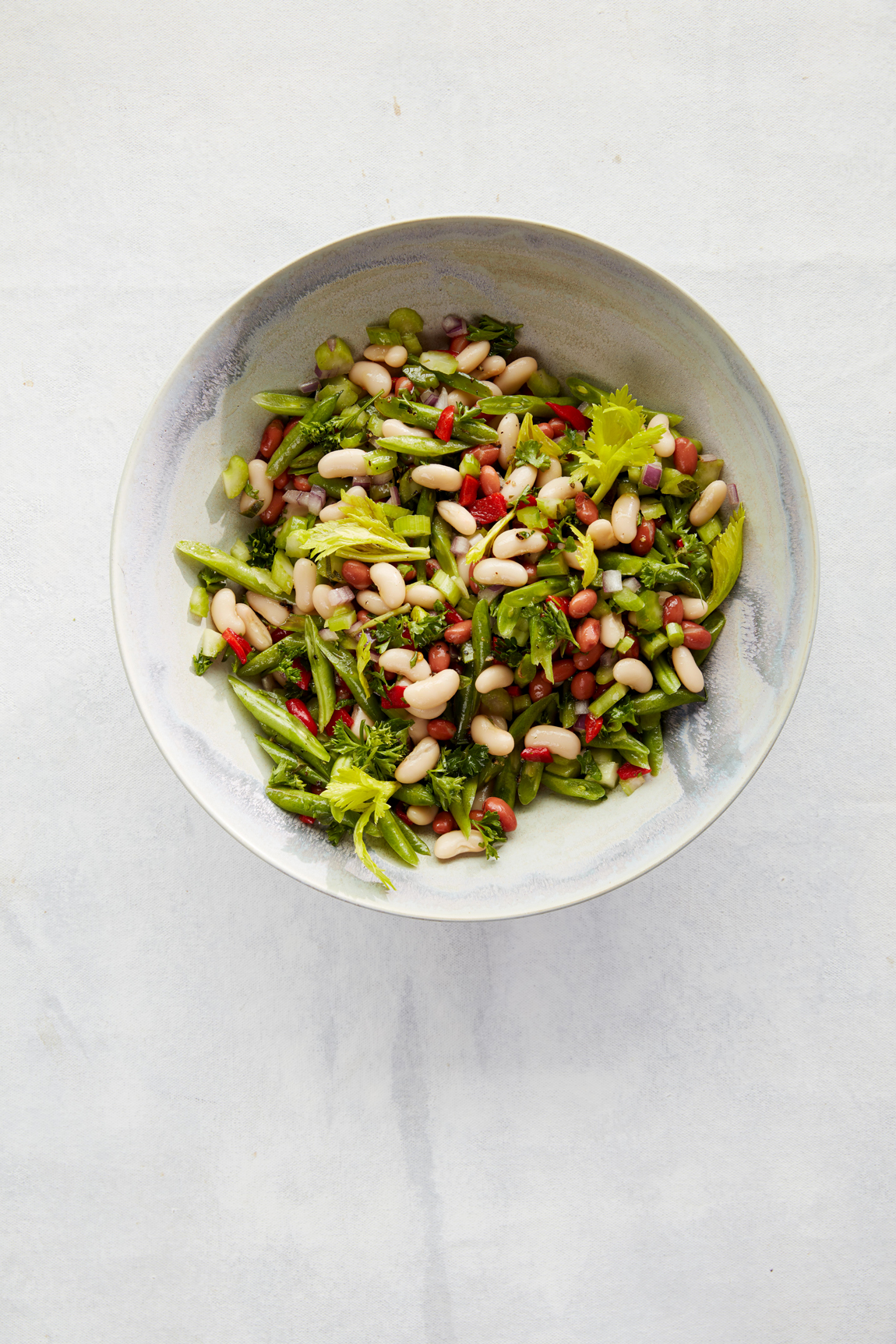 Mediterranean Three-Bean Salad