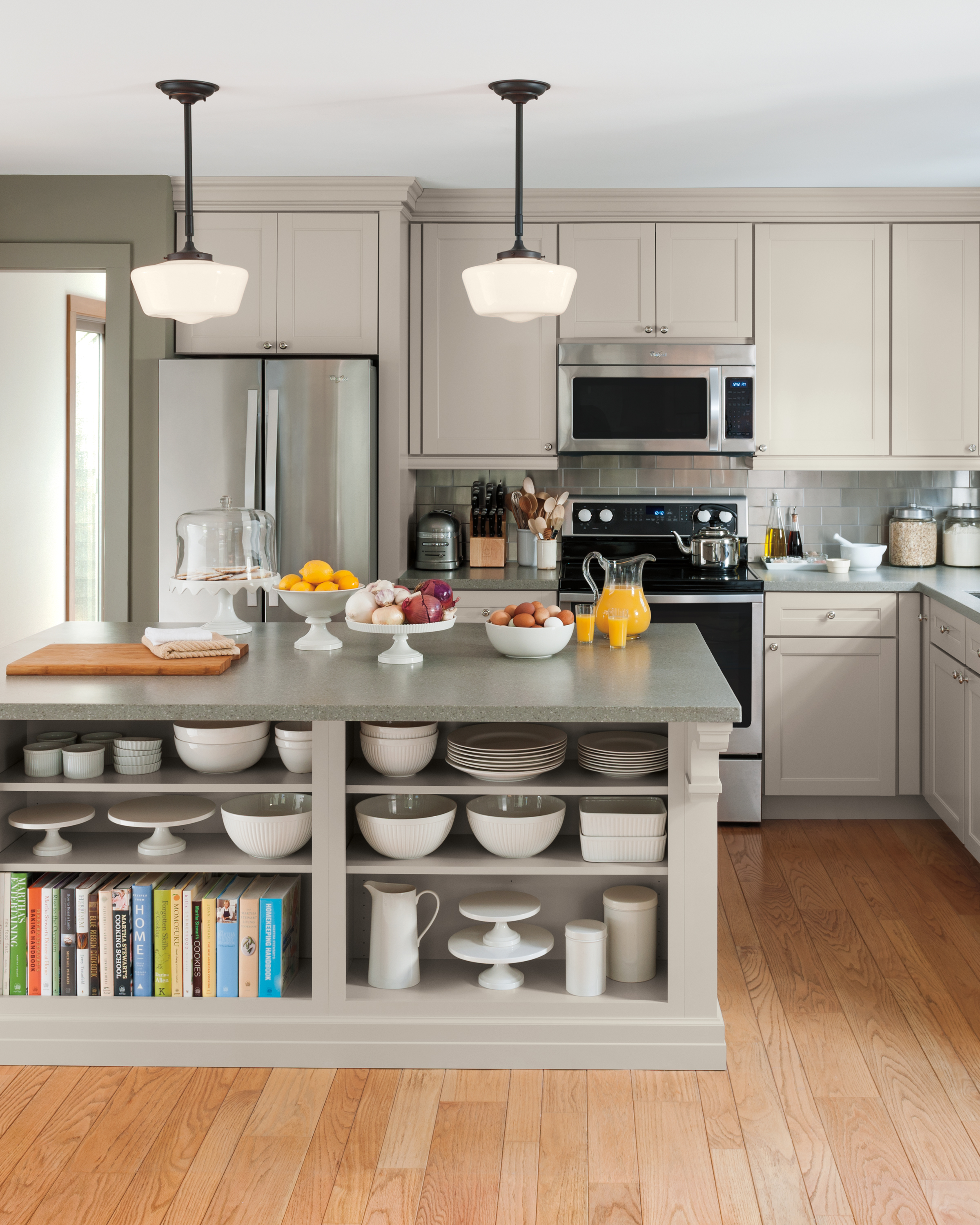 Country: Martha Stewart Living Ox Hill Country Shaker Kitchen