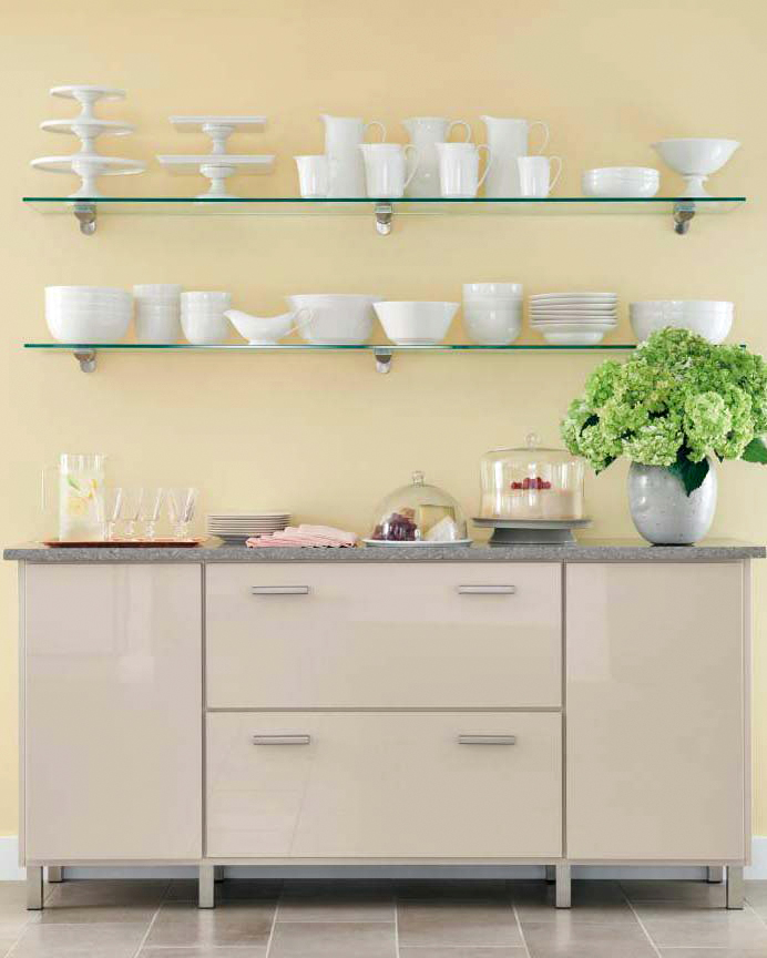 home depot select kitchen style glass shelves