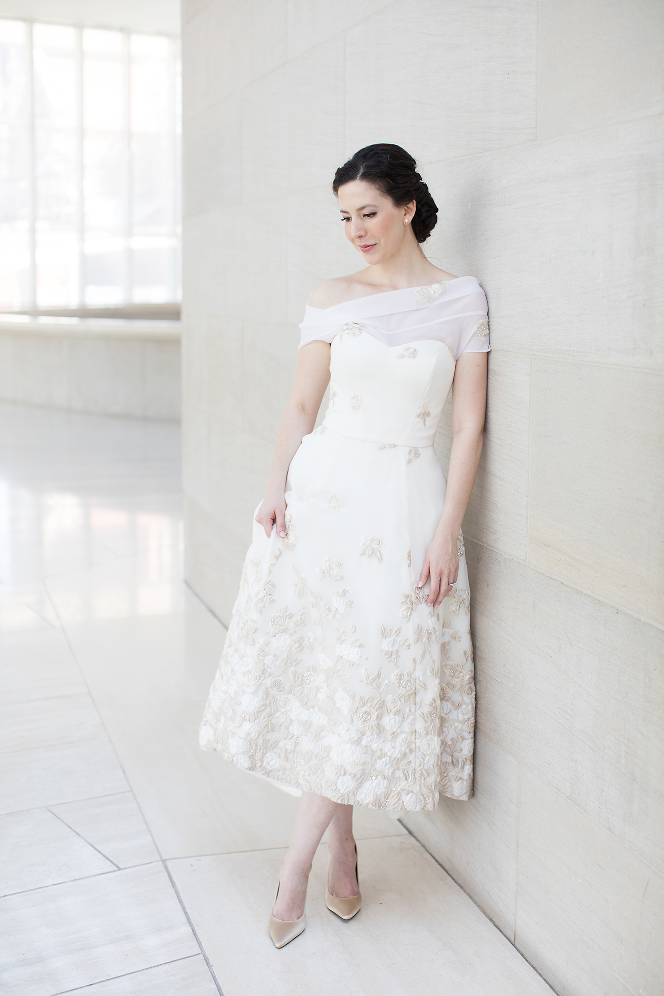 Reception Dresses Brides Changed Into For Their Parties Martha Stewart