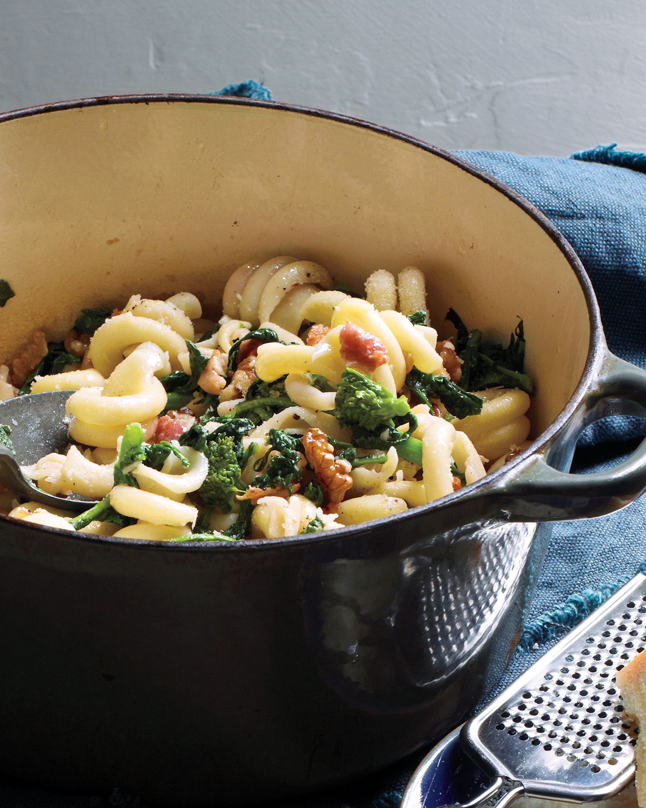 Pasta with Broccoli Rabe and Bacon