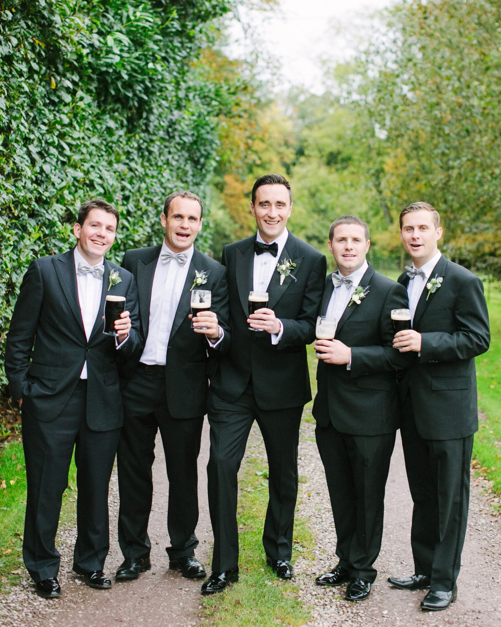 How can I make sure the groomsmen don't get too rowdy?