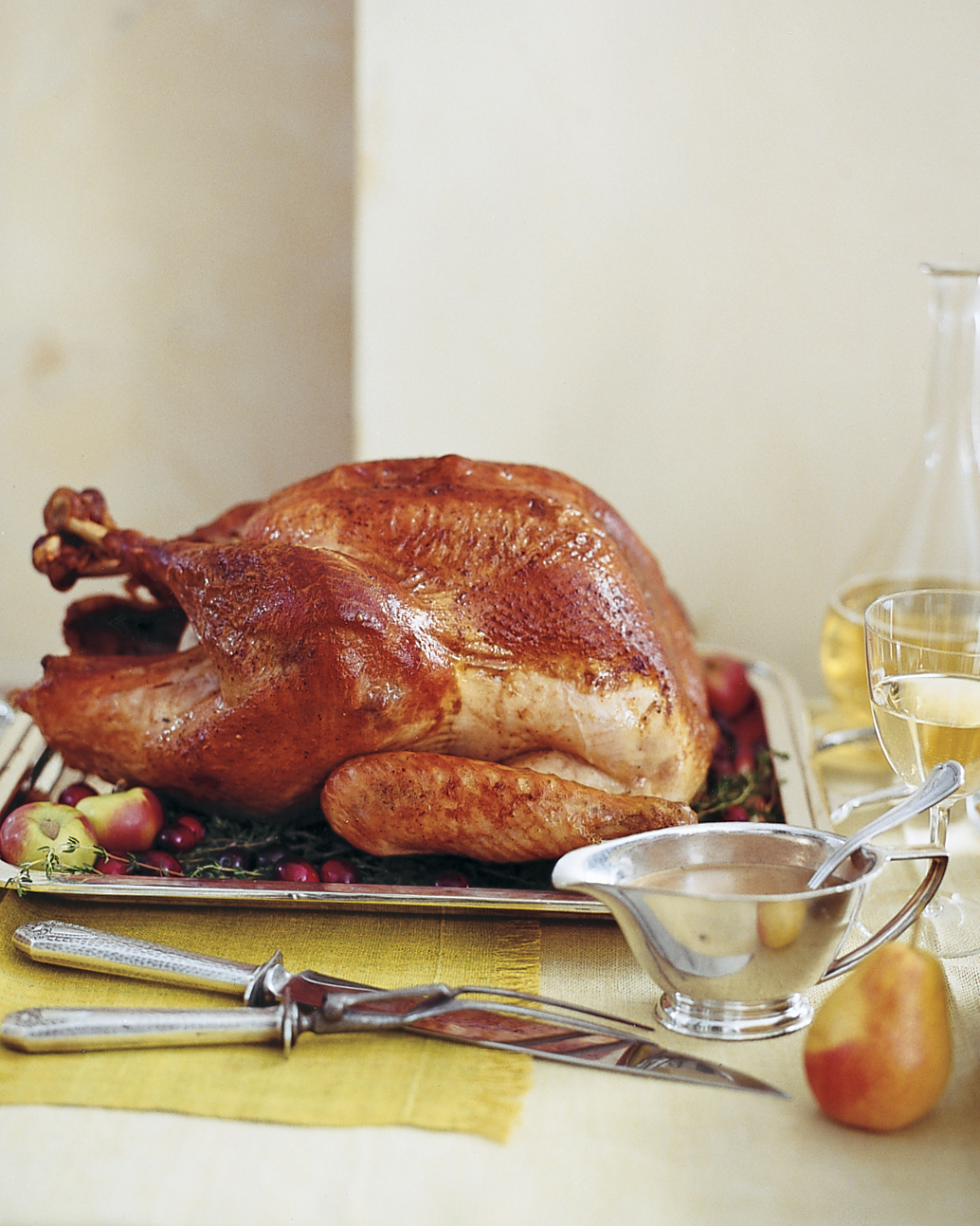 For the Beginner: Brined Turkey