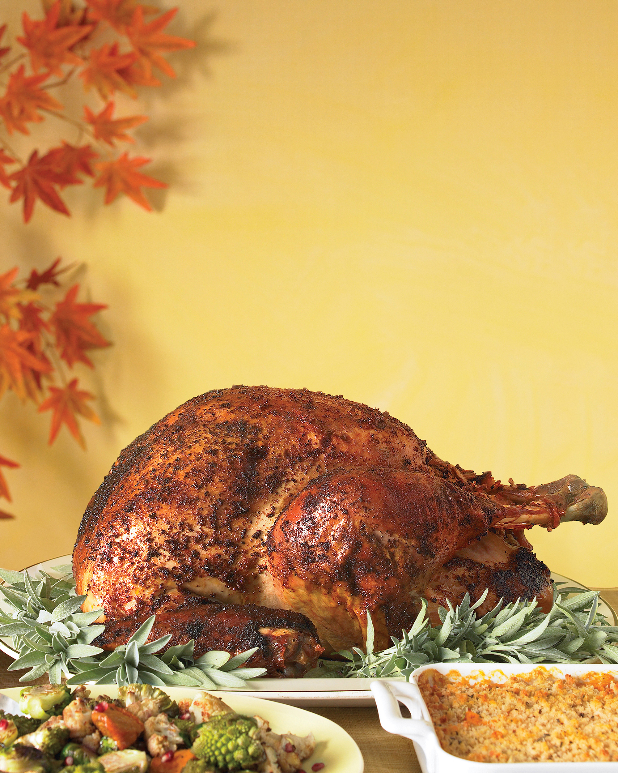 For the Explorer: Spice-Rubbed Turkey