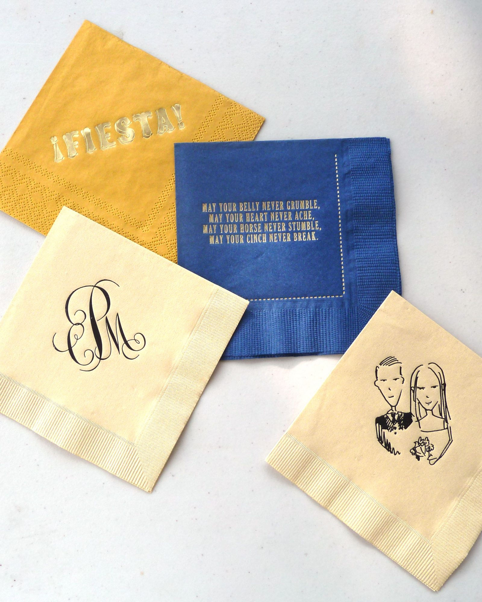 The Custom Cocktail Napkins