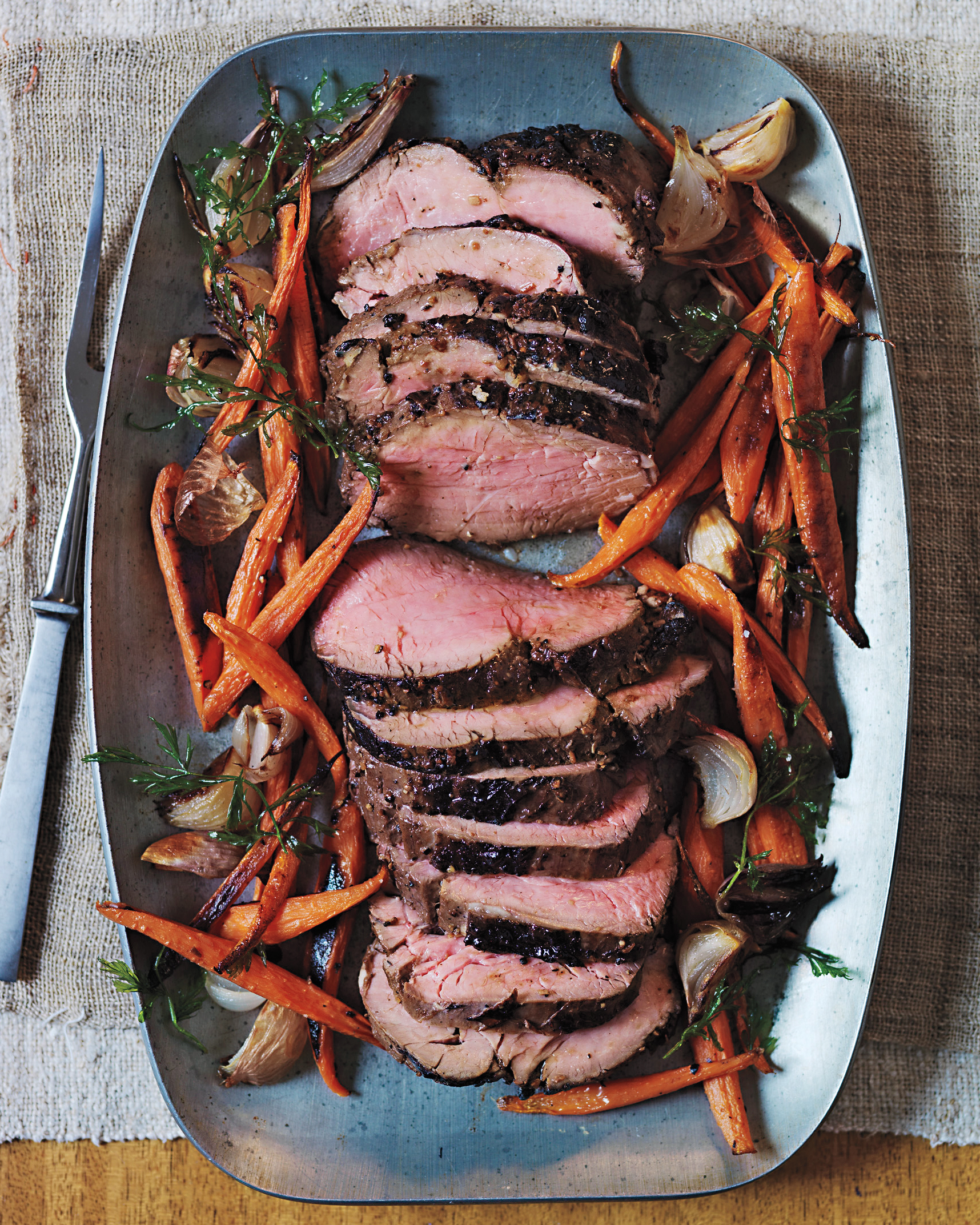 marinated beef tenderloin