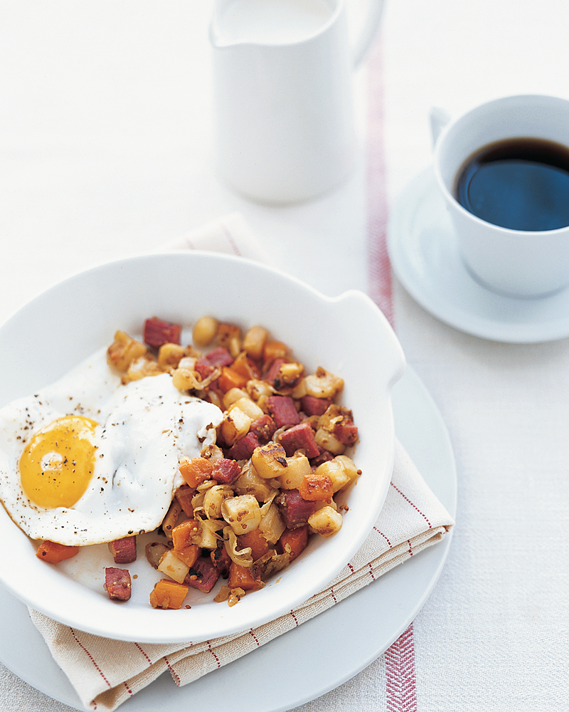 Corned Beef and Root Vegetable Hash