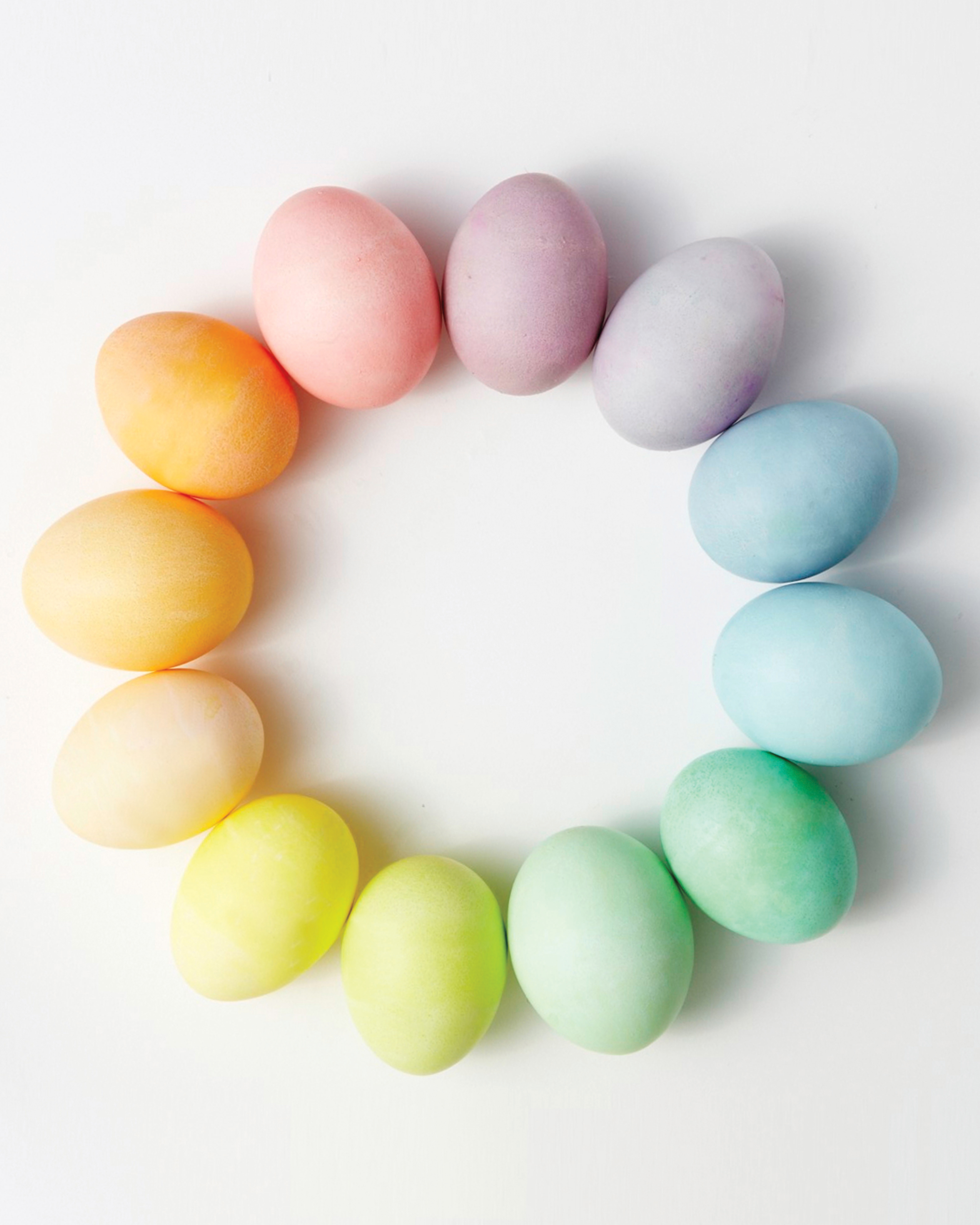 Dye Easter Eggs In Any Color Of The Rainbow With This Chart Martha Stewart
