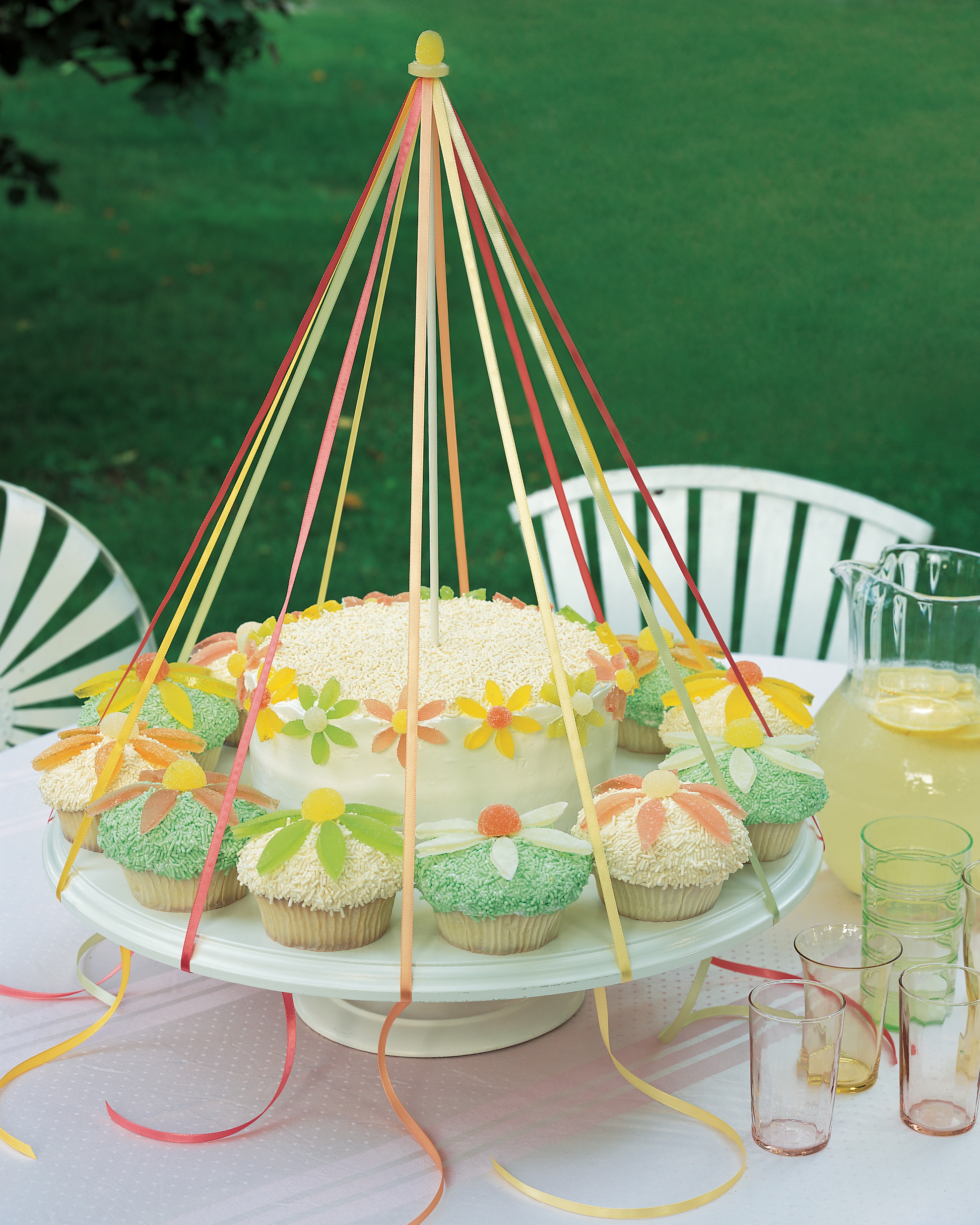 Make a Maypole Cake
