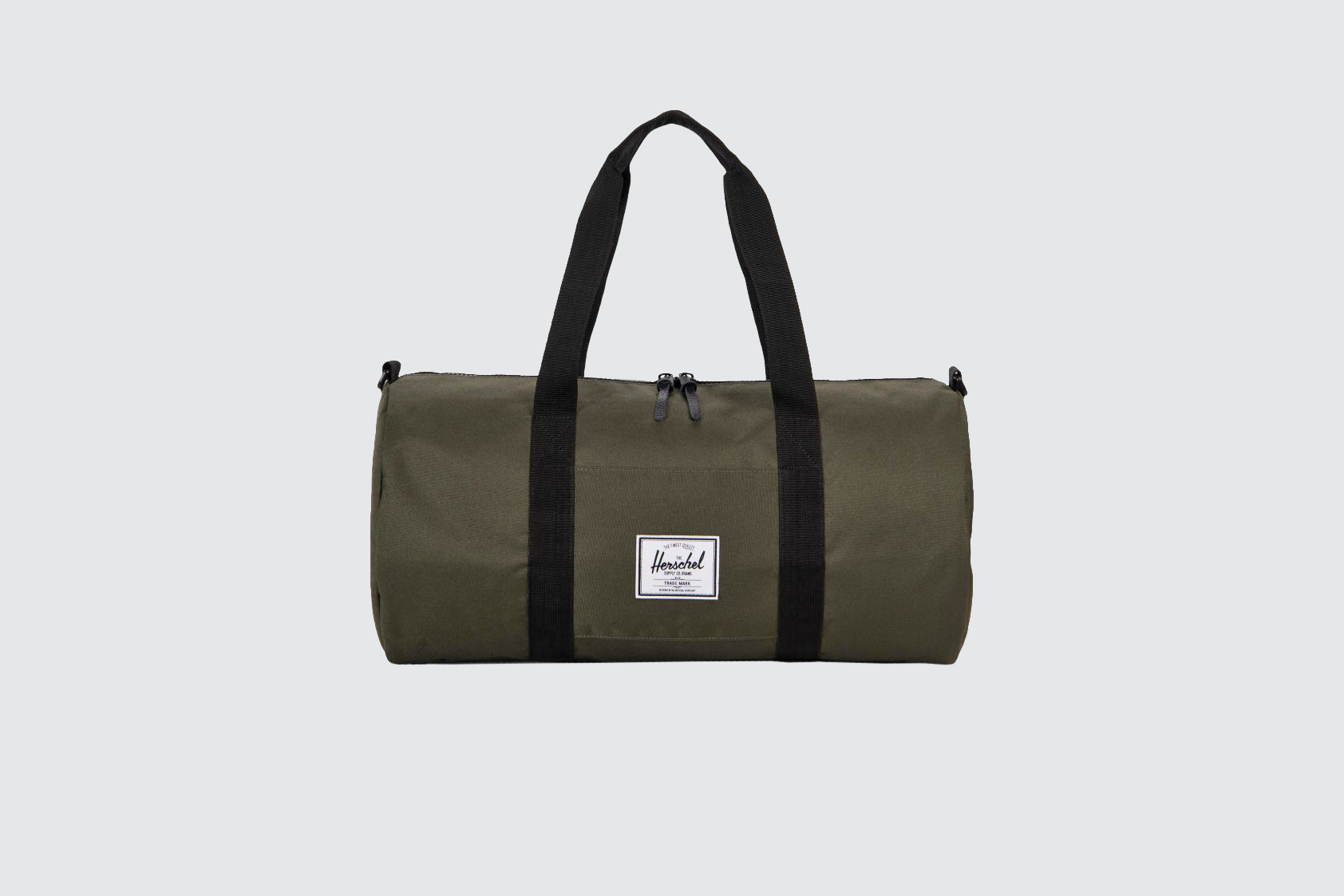 "Herschel ""Sutton"" Duffle in ""Forest Night/Black"""
