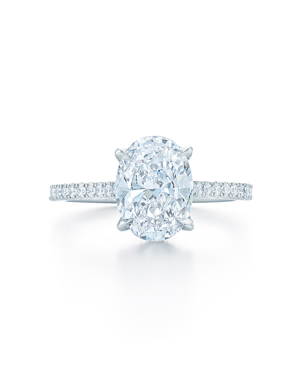 Kwiat Oval Engagement Ring