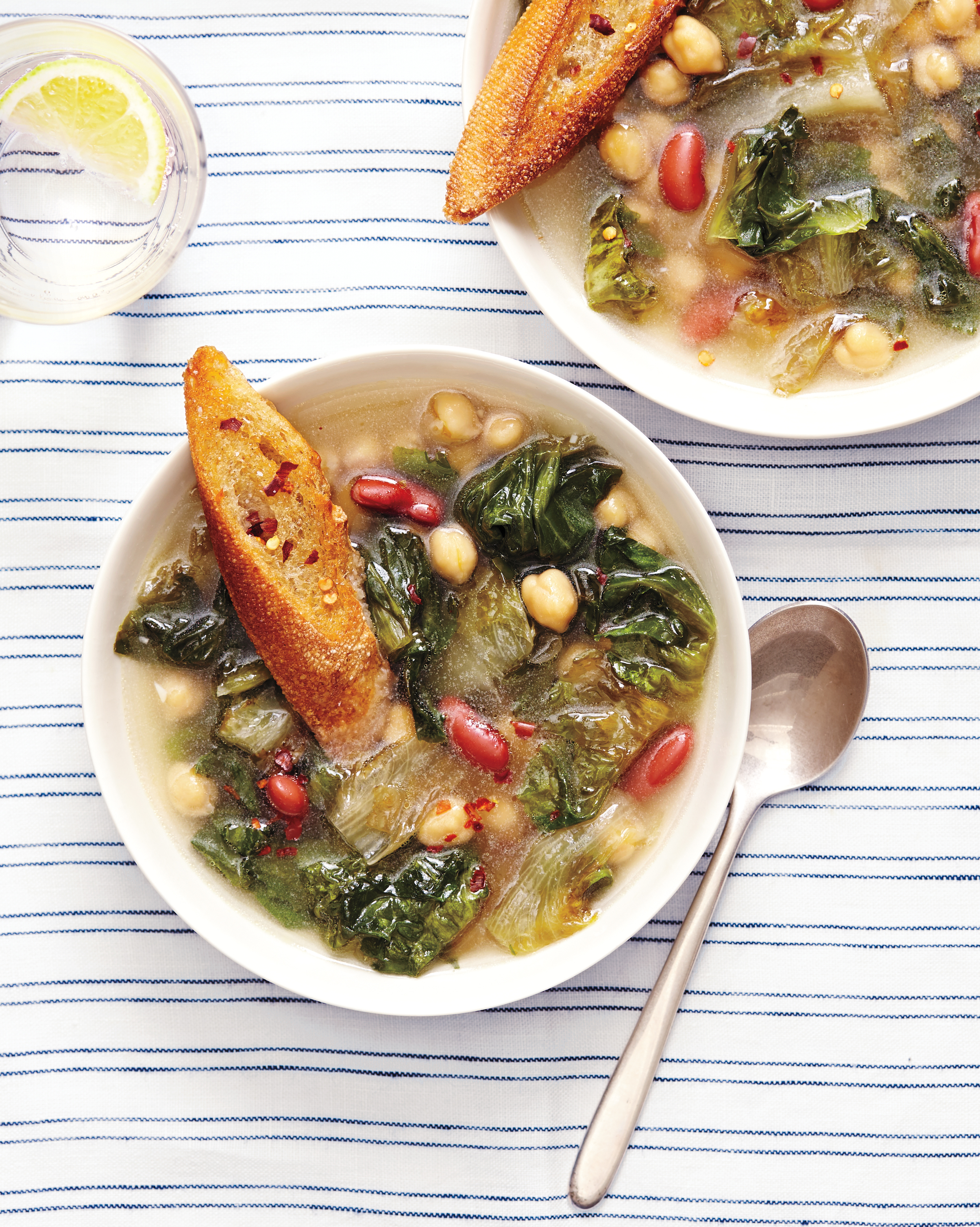 Canned Beans: Escarole and Bean Soup