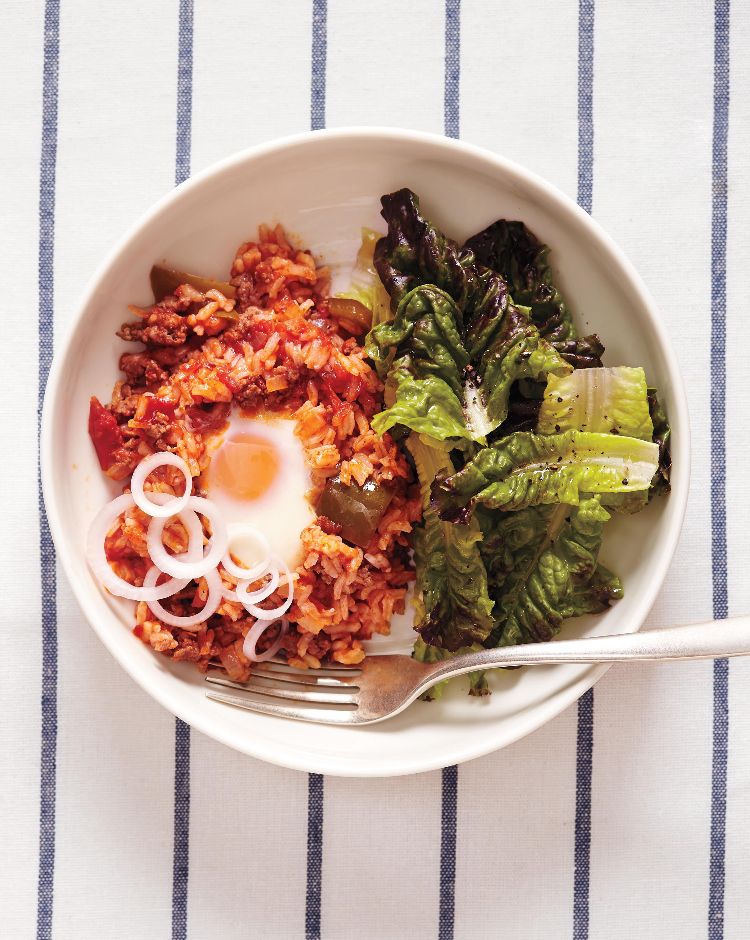 Ground Chuck: Spanish Rice with Ground Beef and Eggs