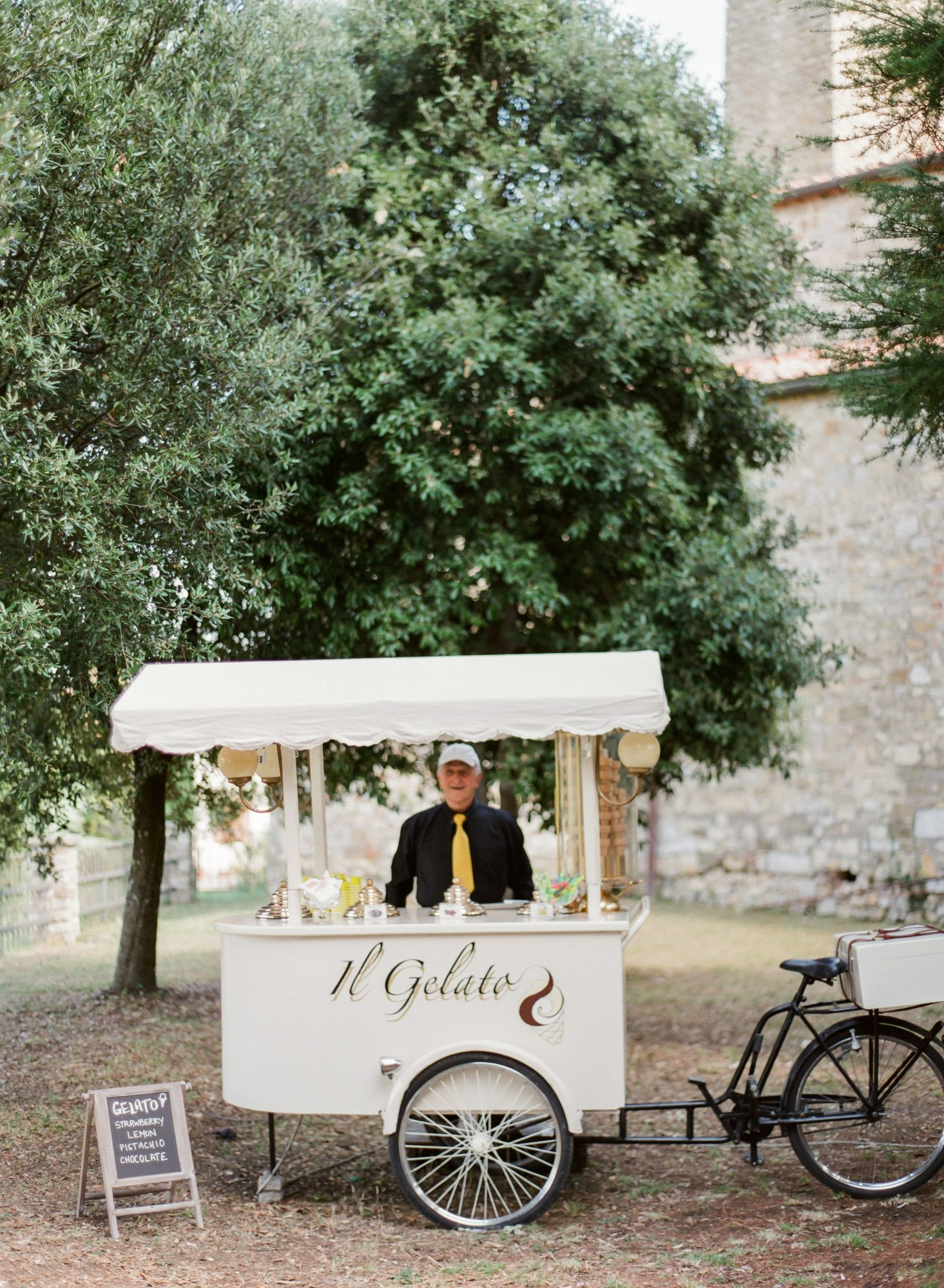 class ricevimenti mobile food cart bicycle