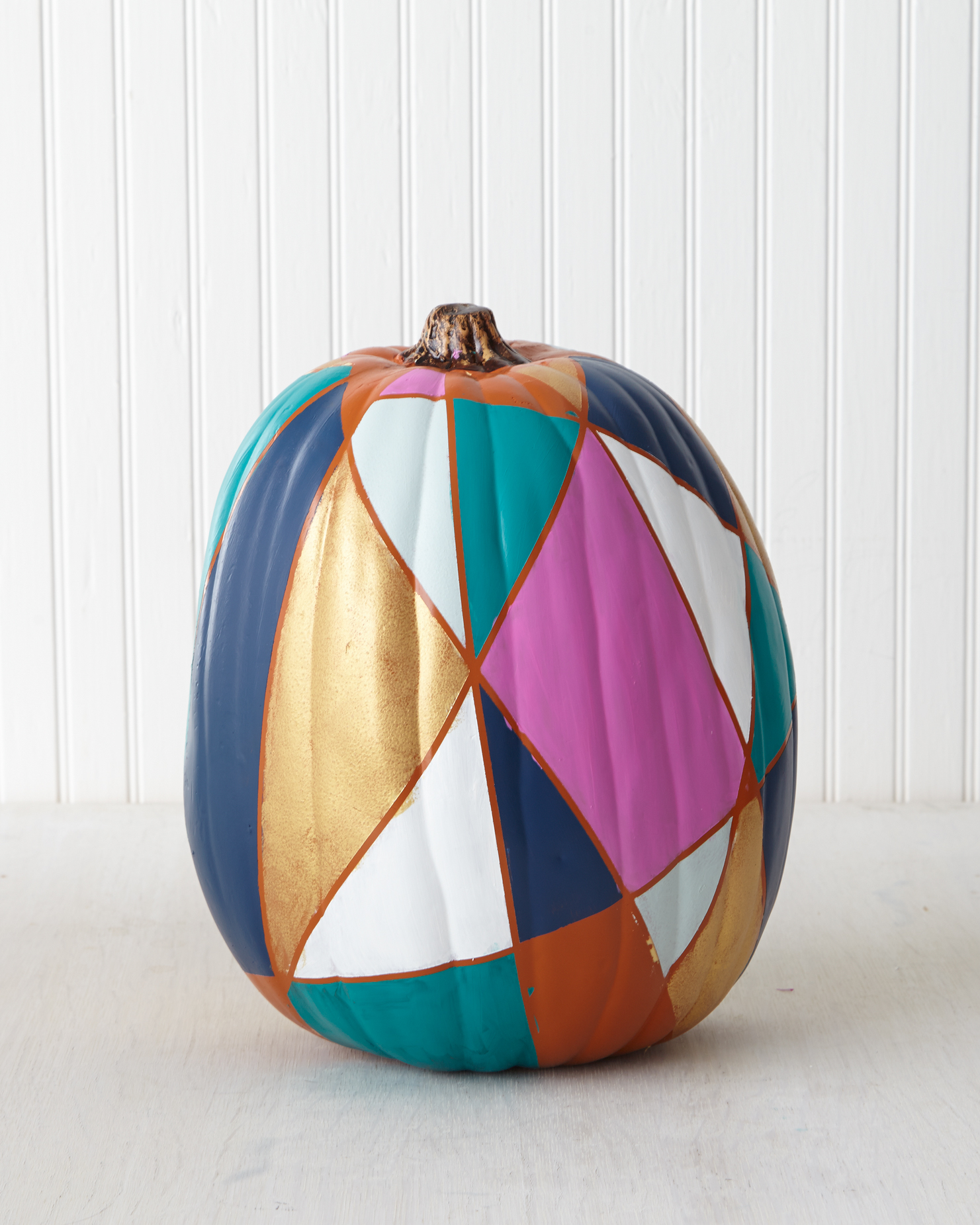 Stained Glass Window Pumpkin
