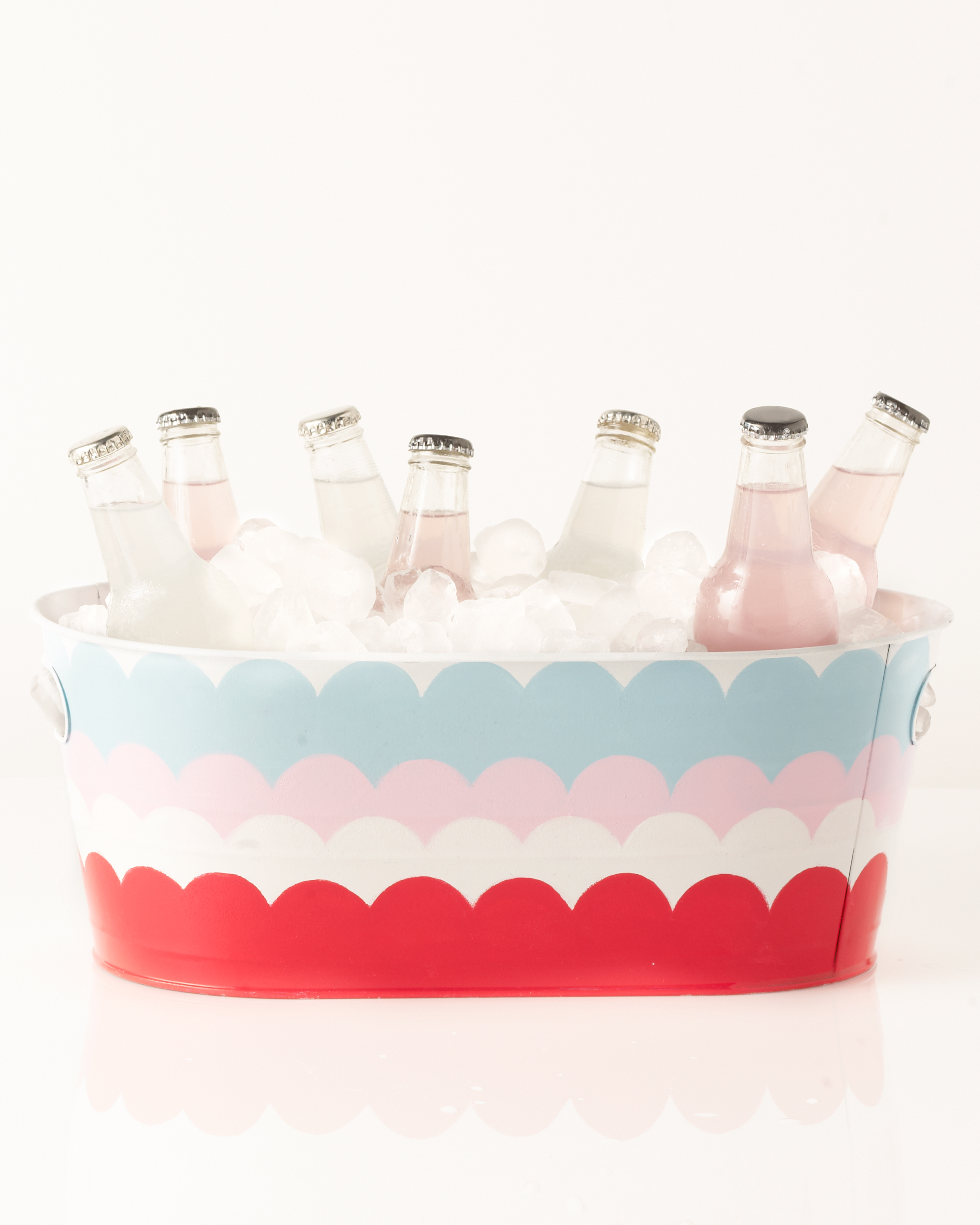 Scalloped Drink Cooler