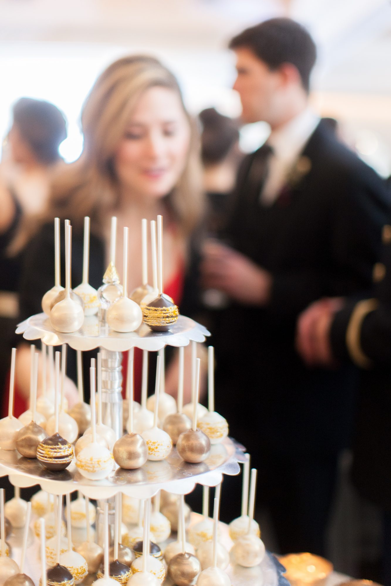 Let guests eat on the go, so that they never have to stop partying.