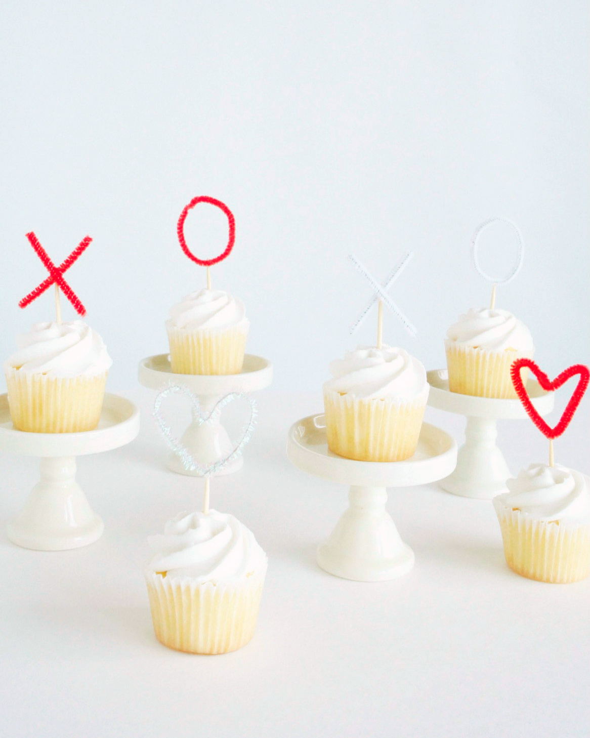 Sweetheart Cupcake Toppers