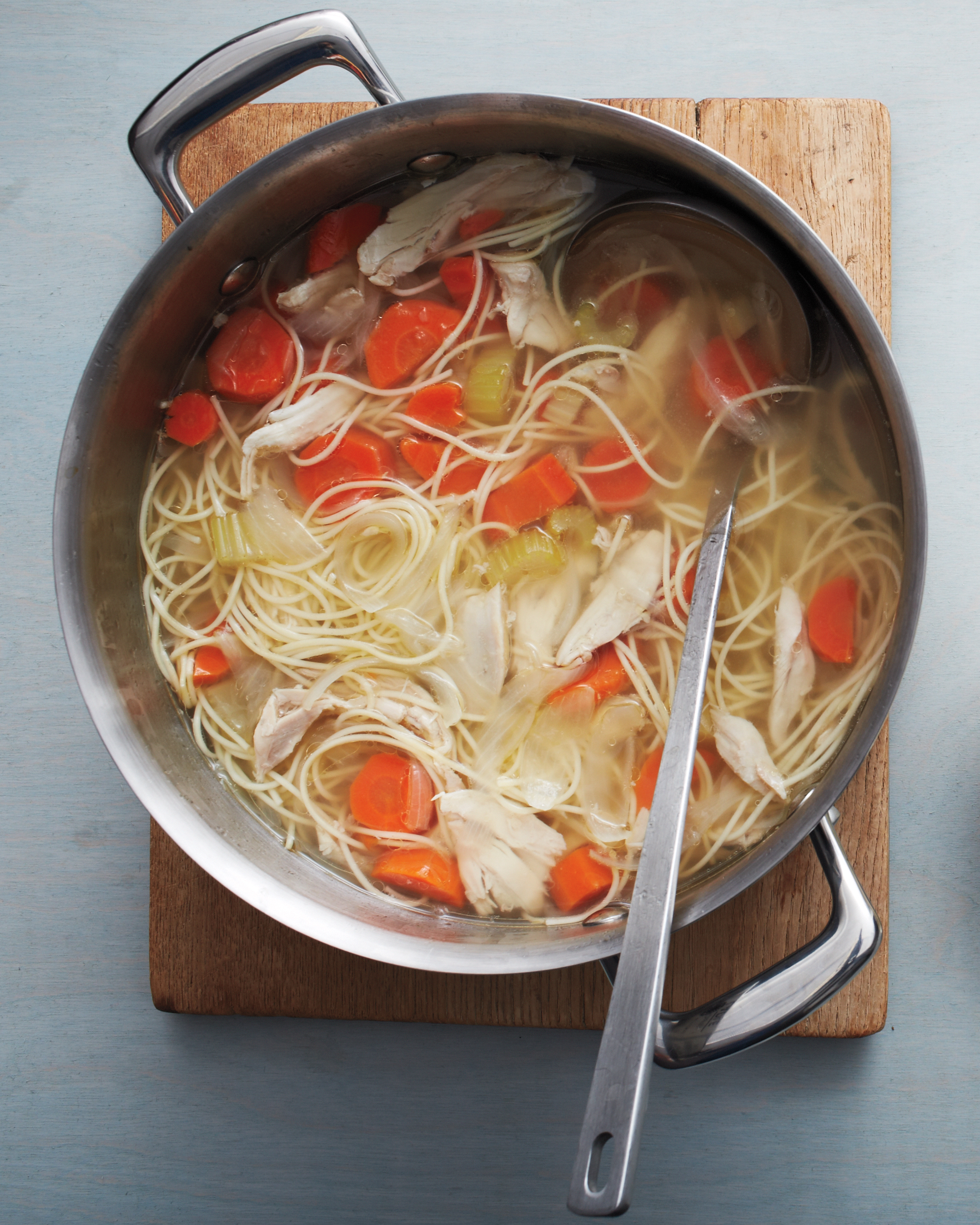 One-Pot Chicken Noodle Soup