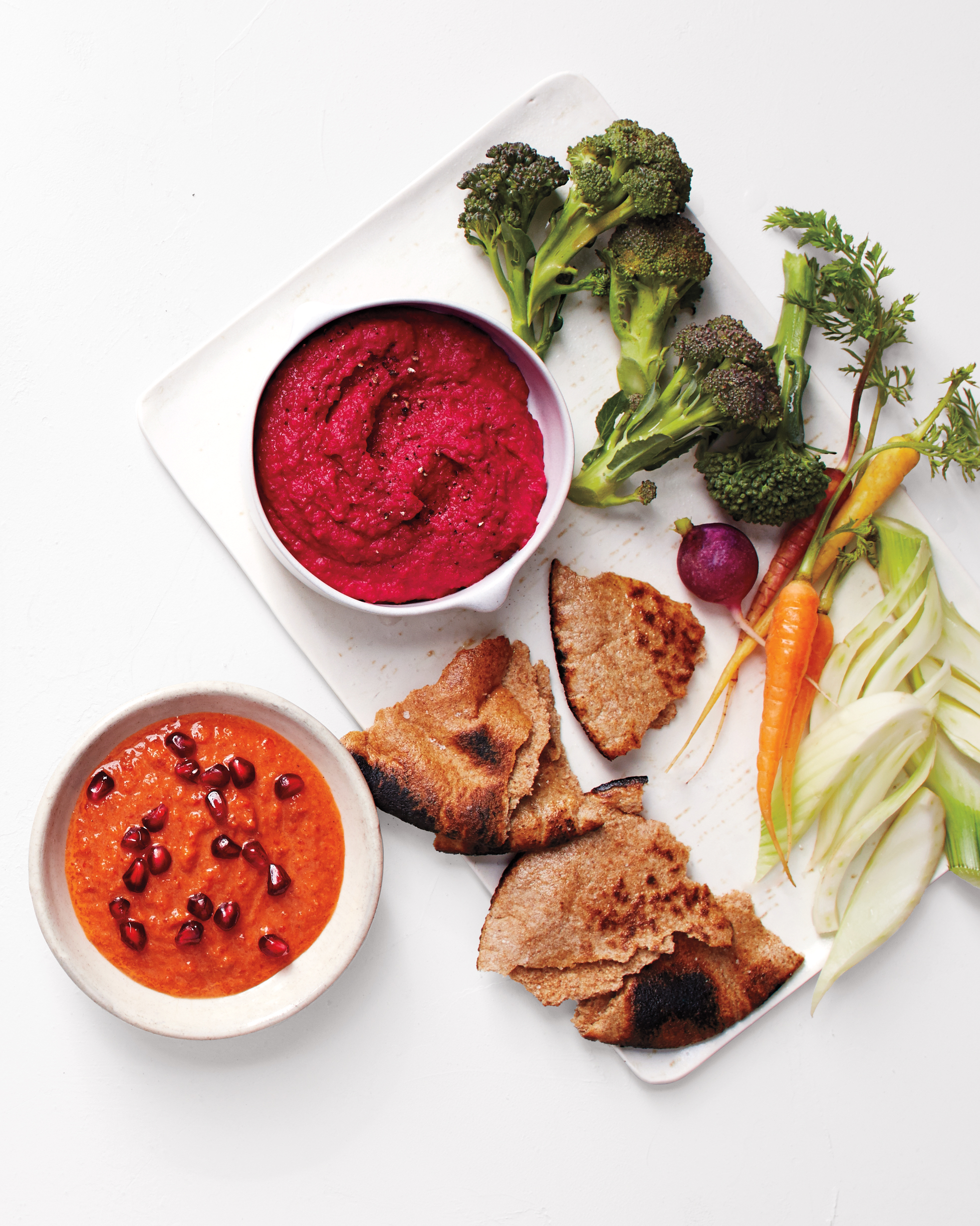 Roasted Beet-White Bean Hummus