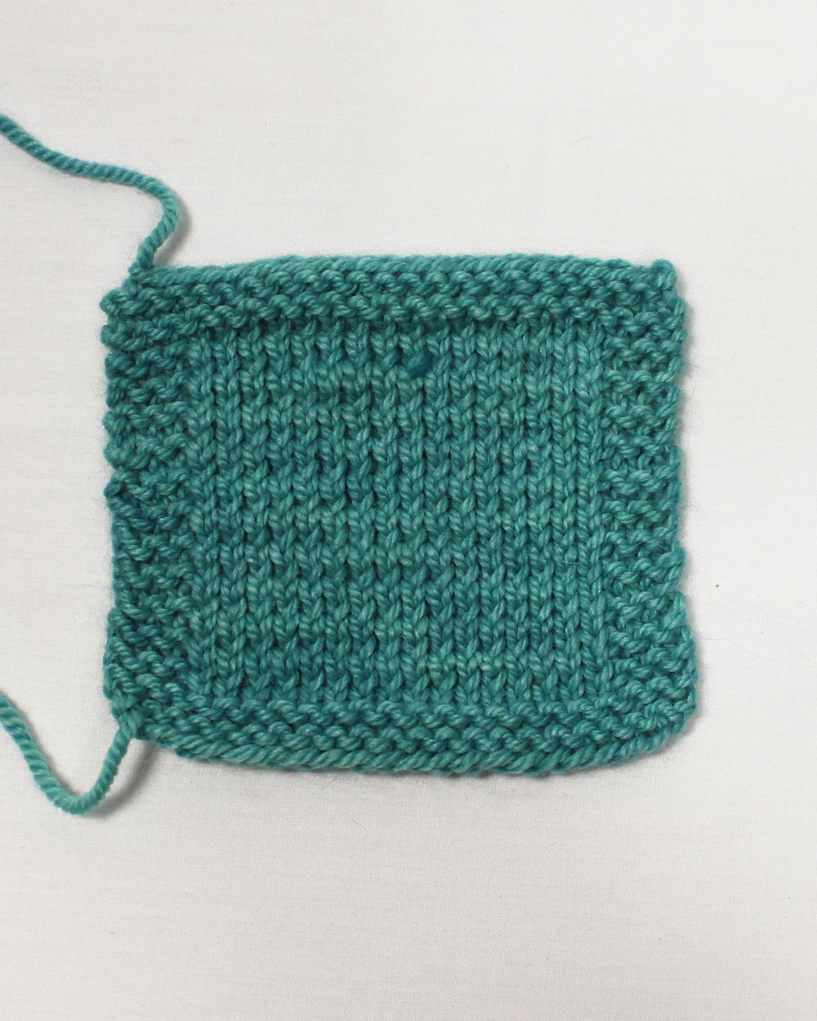 Twisted Knit Swatch