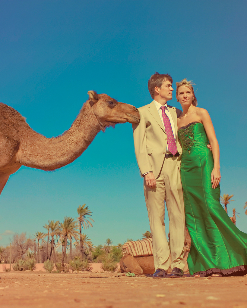 The Photo-Bombing Camel