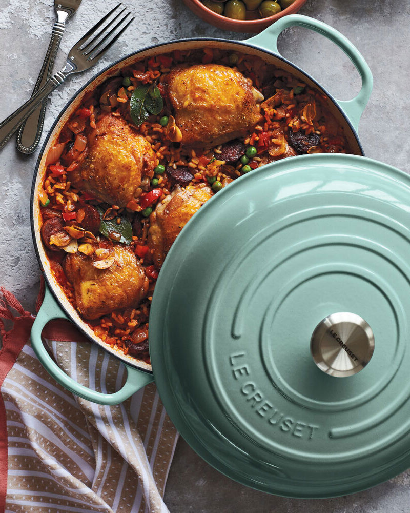 Turquoise cookware