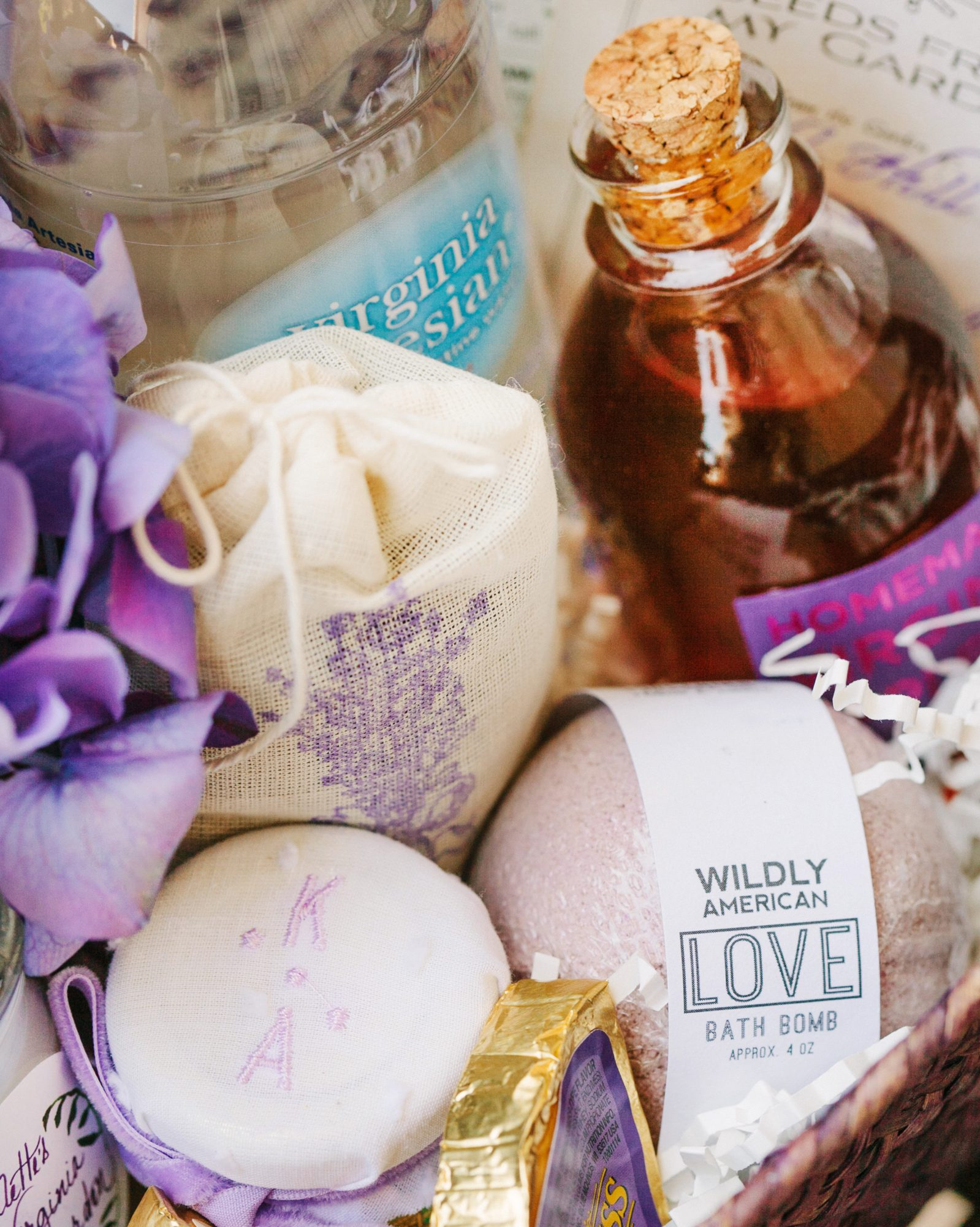 Lavender Welcome Basket