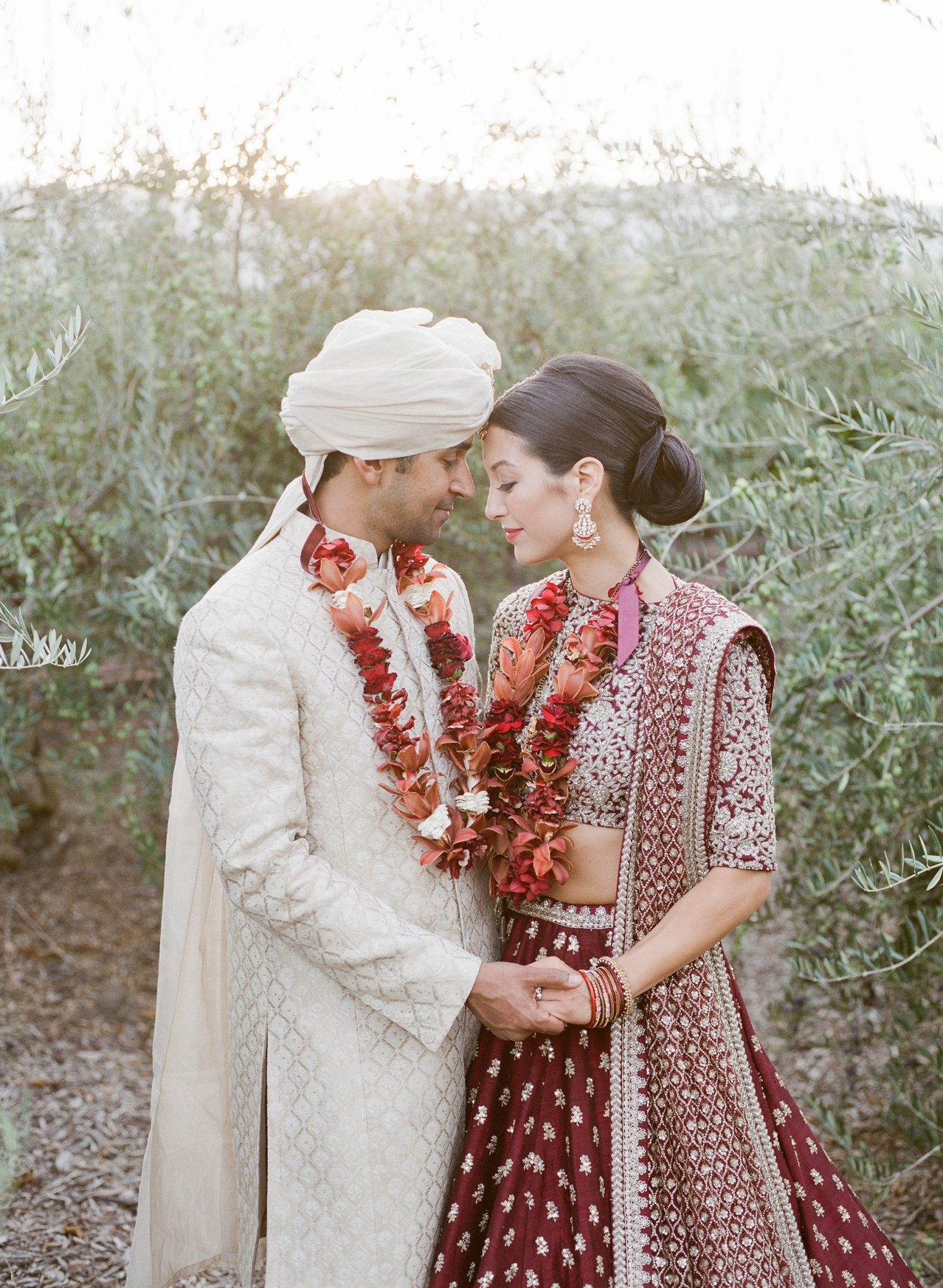 jenna alok wedding wine country california couple