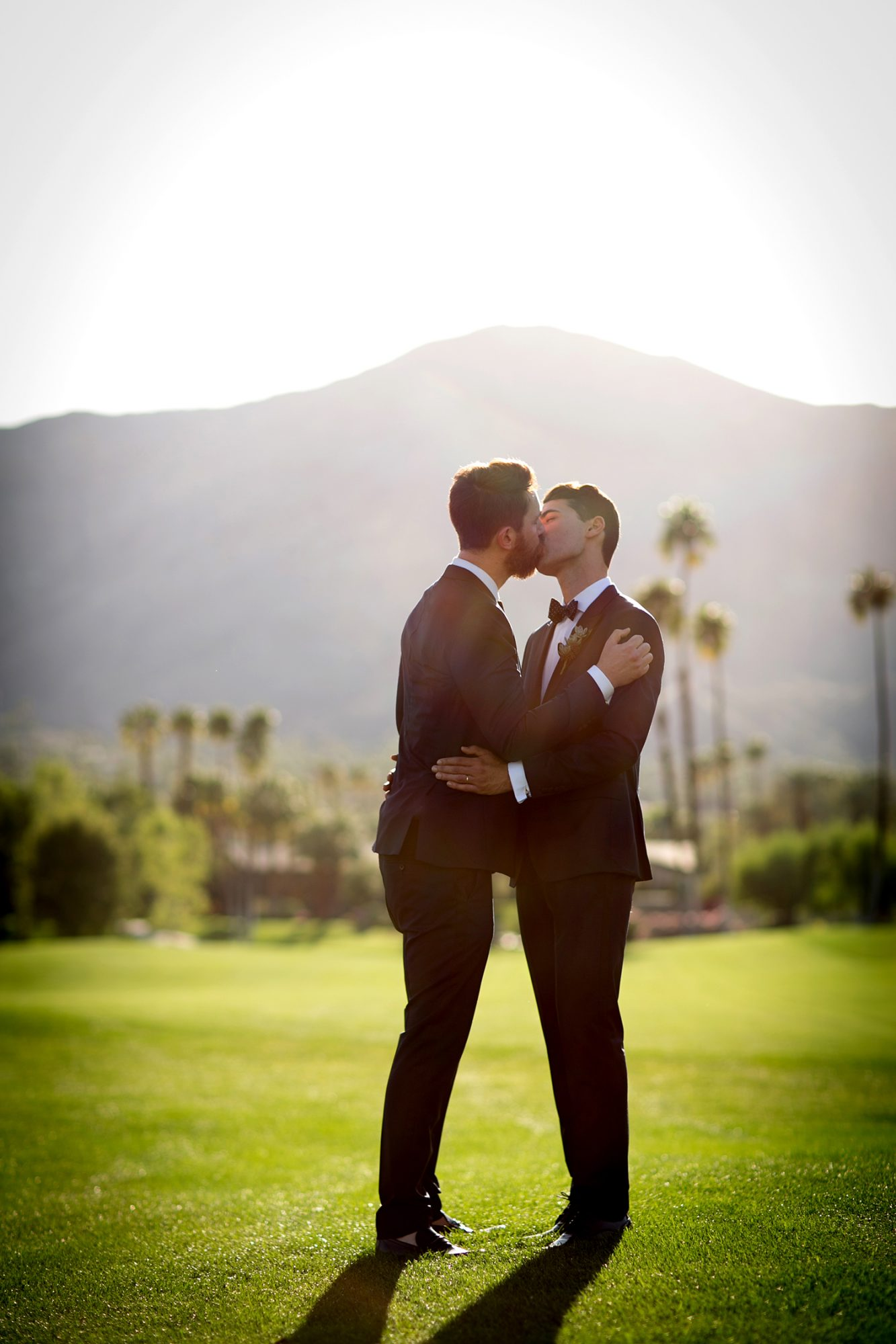 Gorgeous lighting was the cherry on top of this romantic portrait.