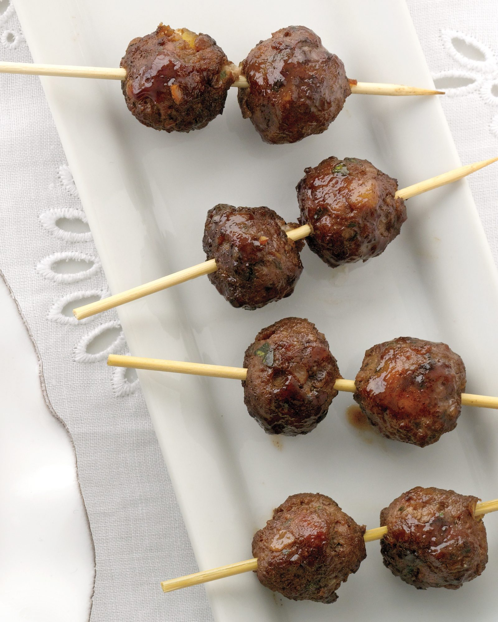 Lamb and Pistachio Meatballs
