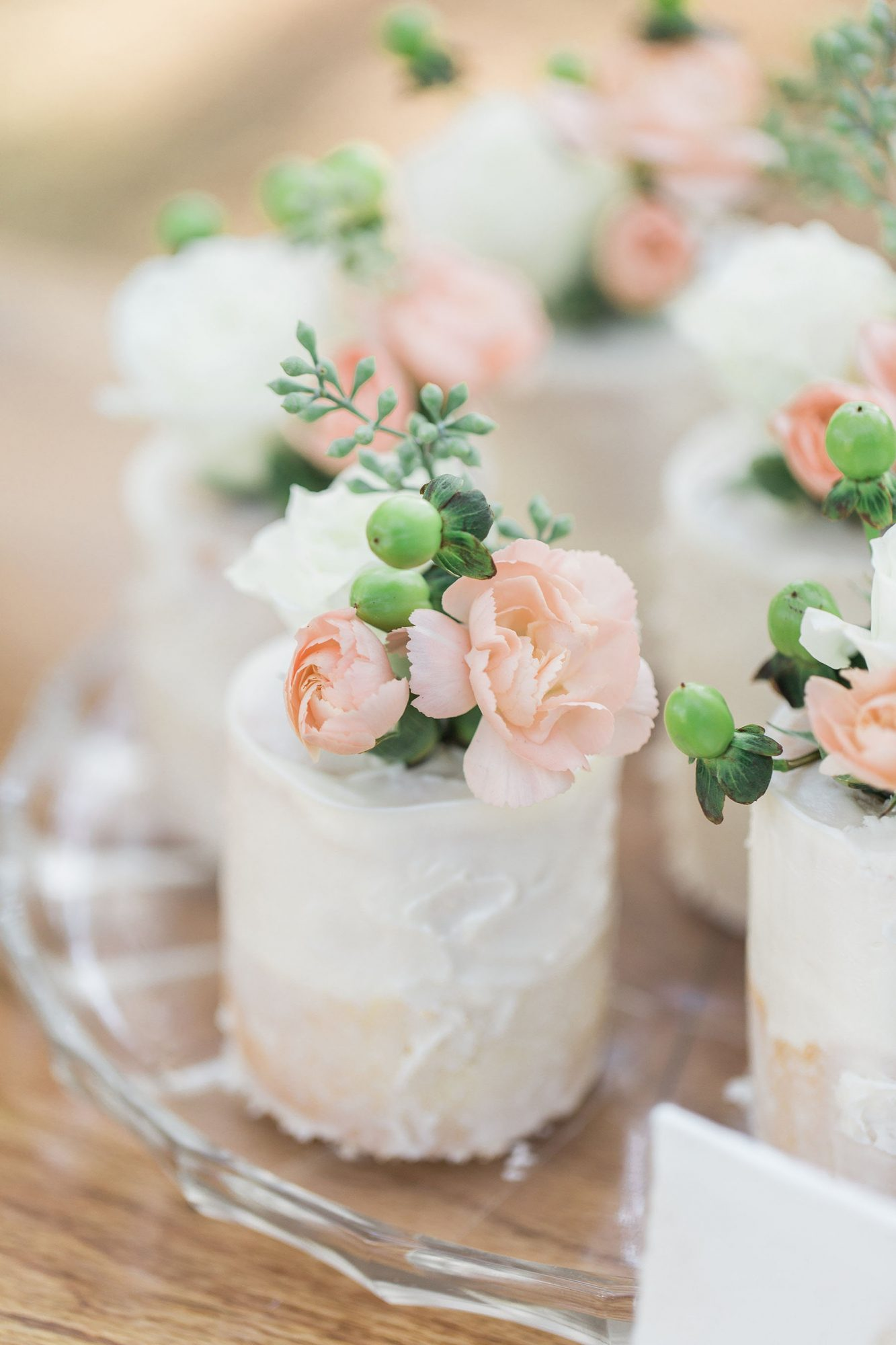 Mini Individual Wedding Cake