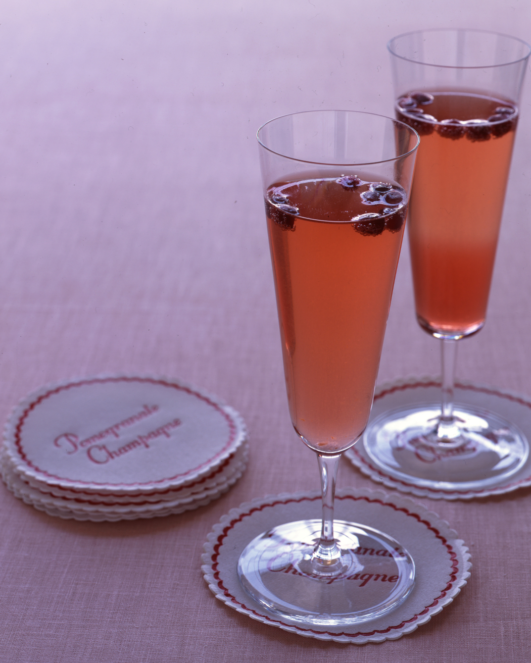 Simple: Pomegranate Champagne