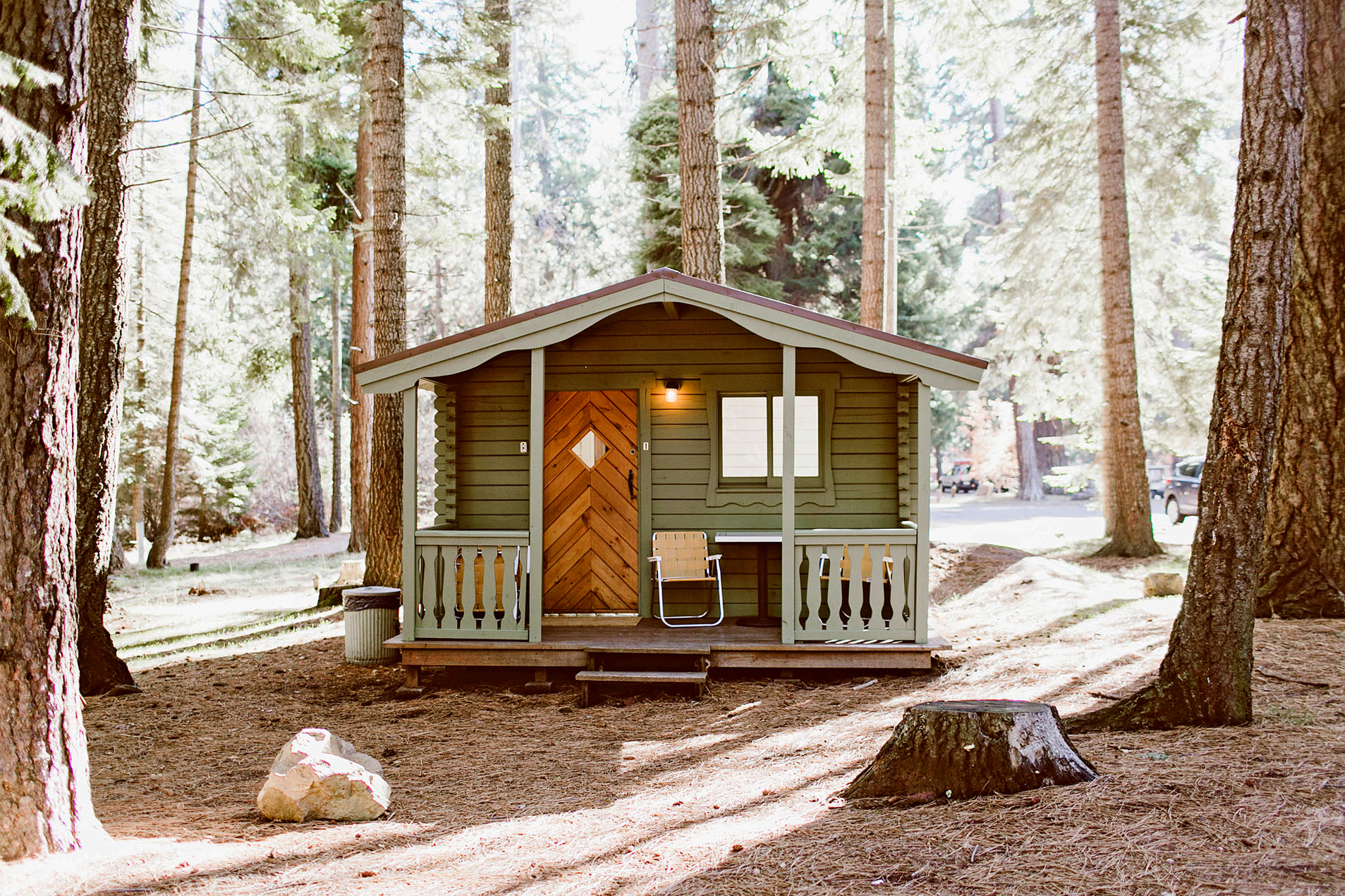 cabin at the suttle lodge in oregon