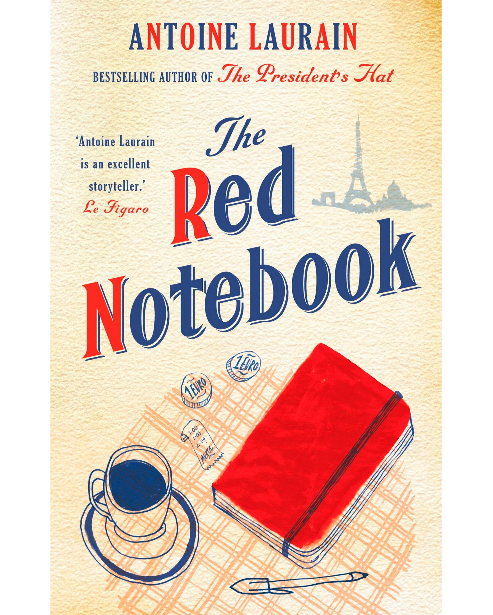 """The Red Notebook"" by Antoine Laurain"