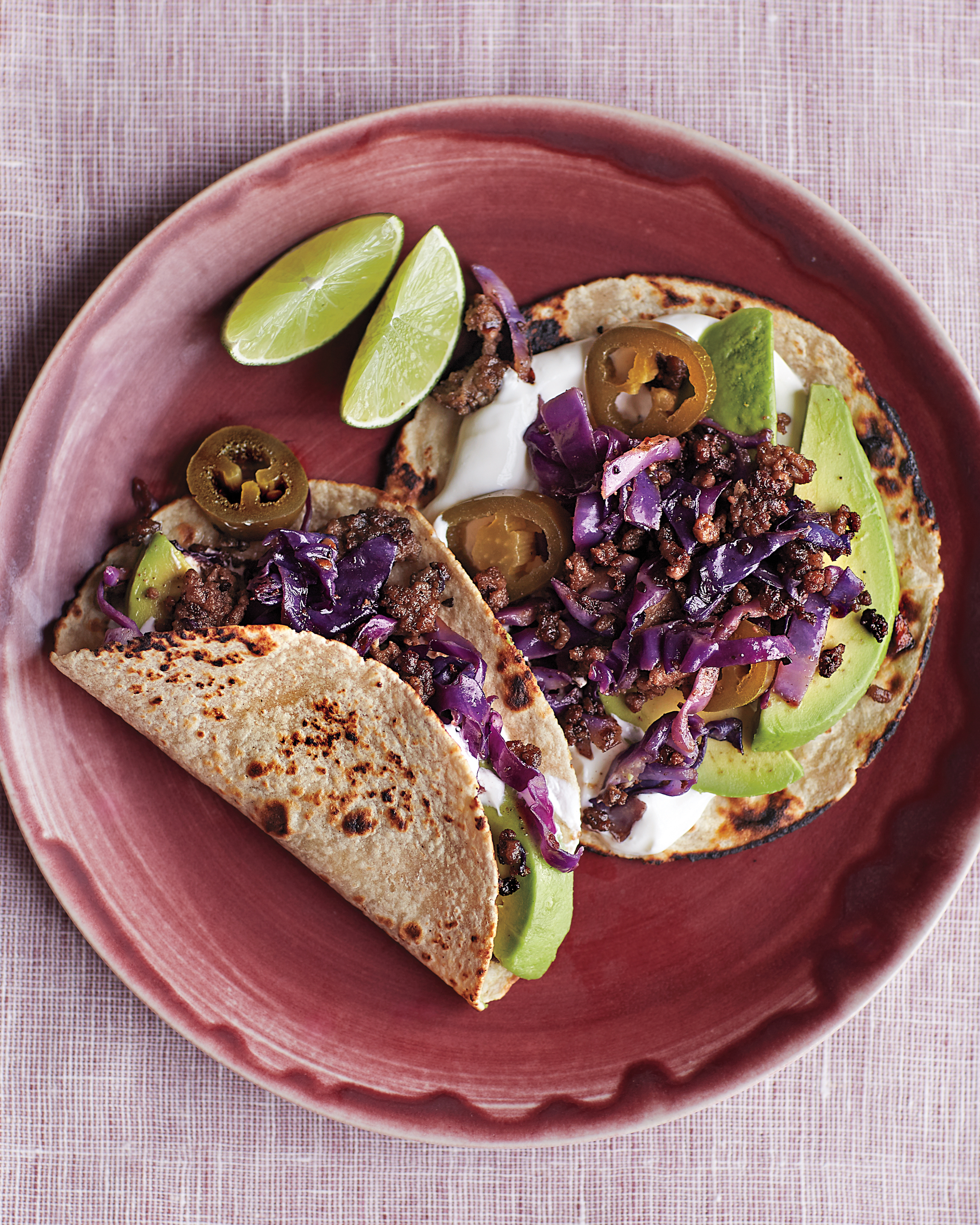 Beef and Cabbage Tacos