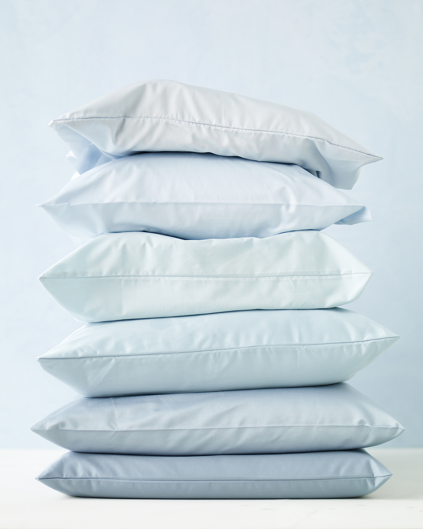 Pillows: Every Three to Six Months