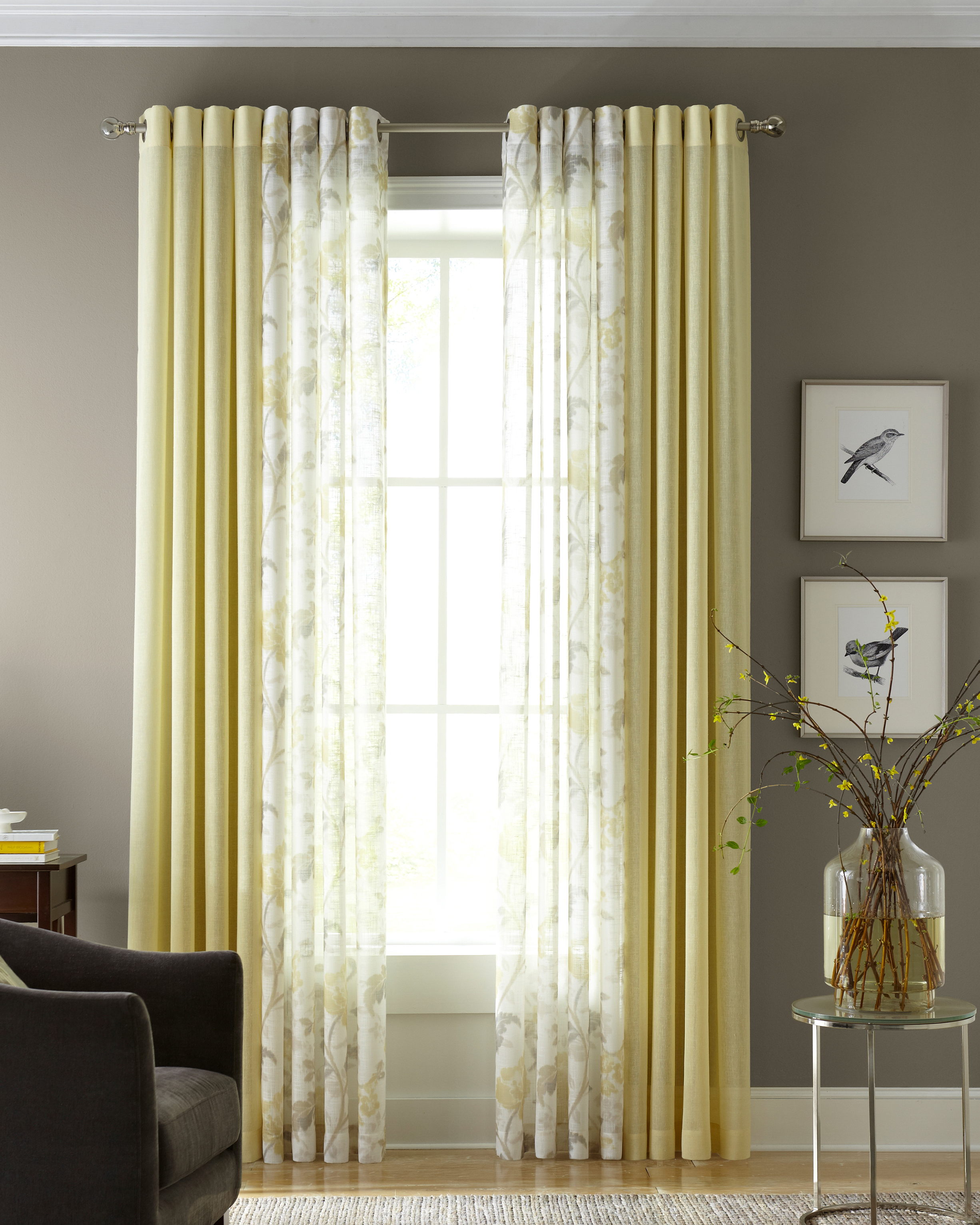 Window Treatments: Once a Month