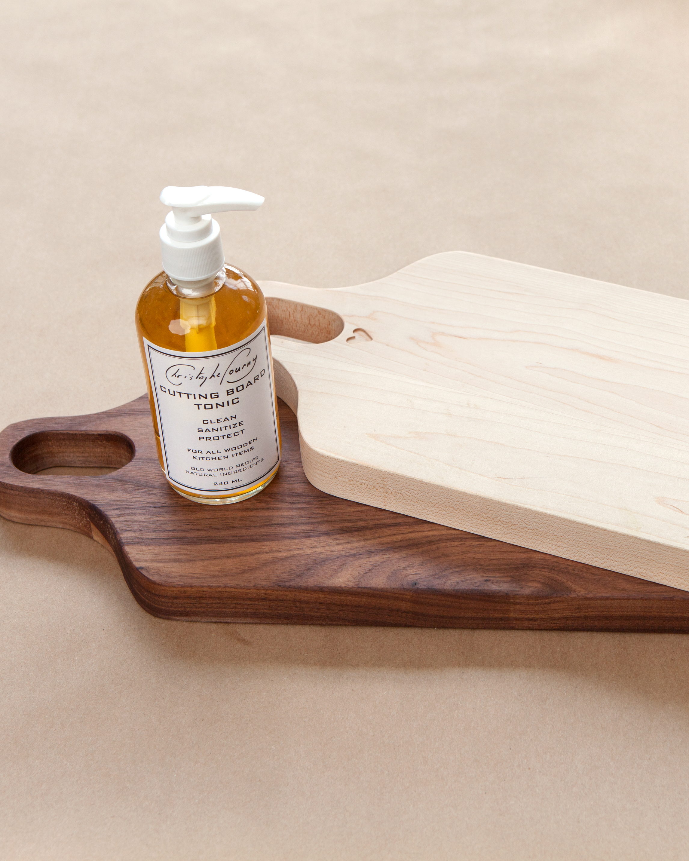 Your Wooden Cutting Board