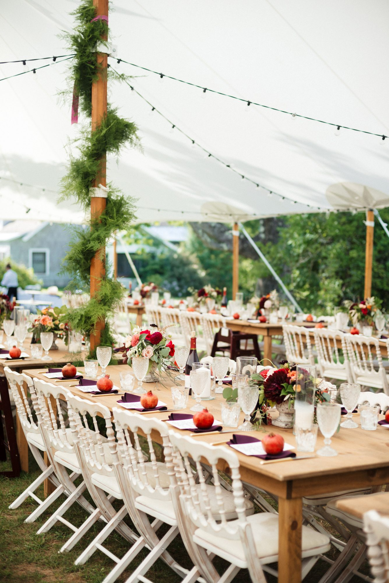 tent decor bella wang