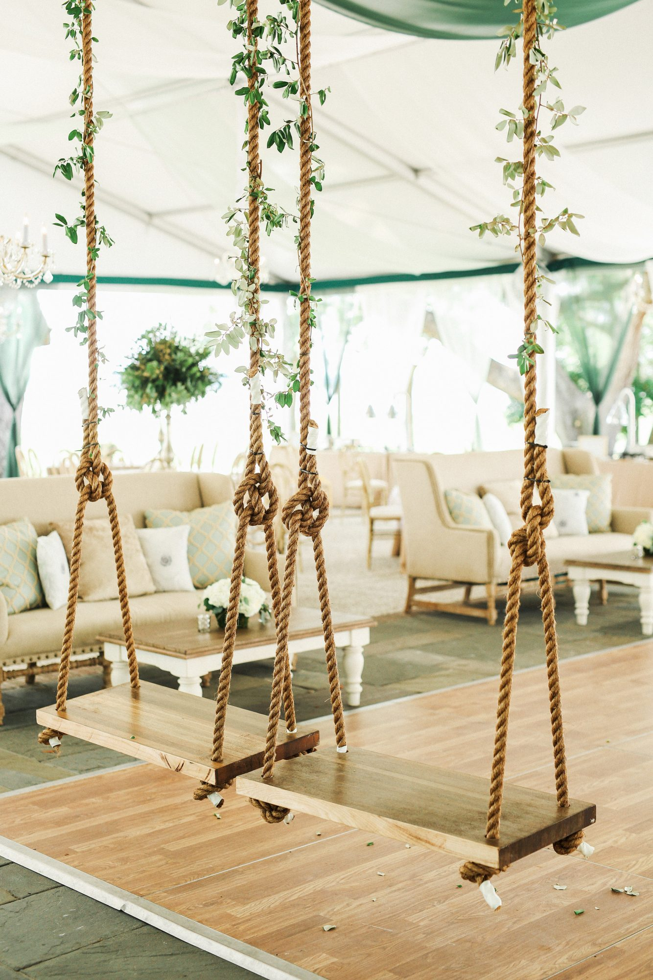 tent decor gideon photo
