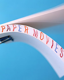 Paper Movie Flip Book