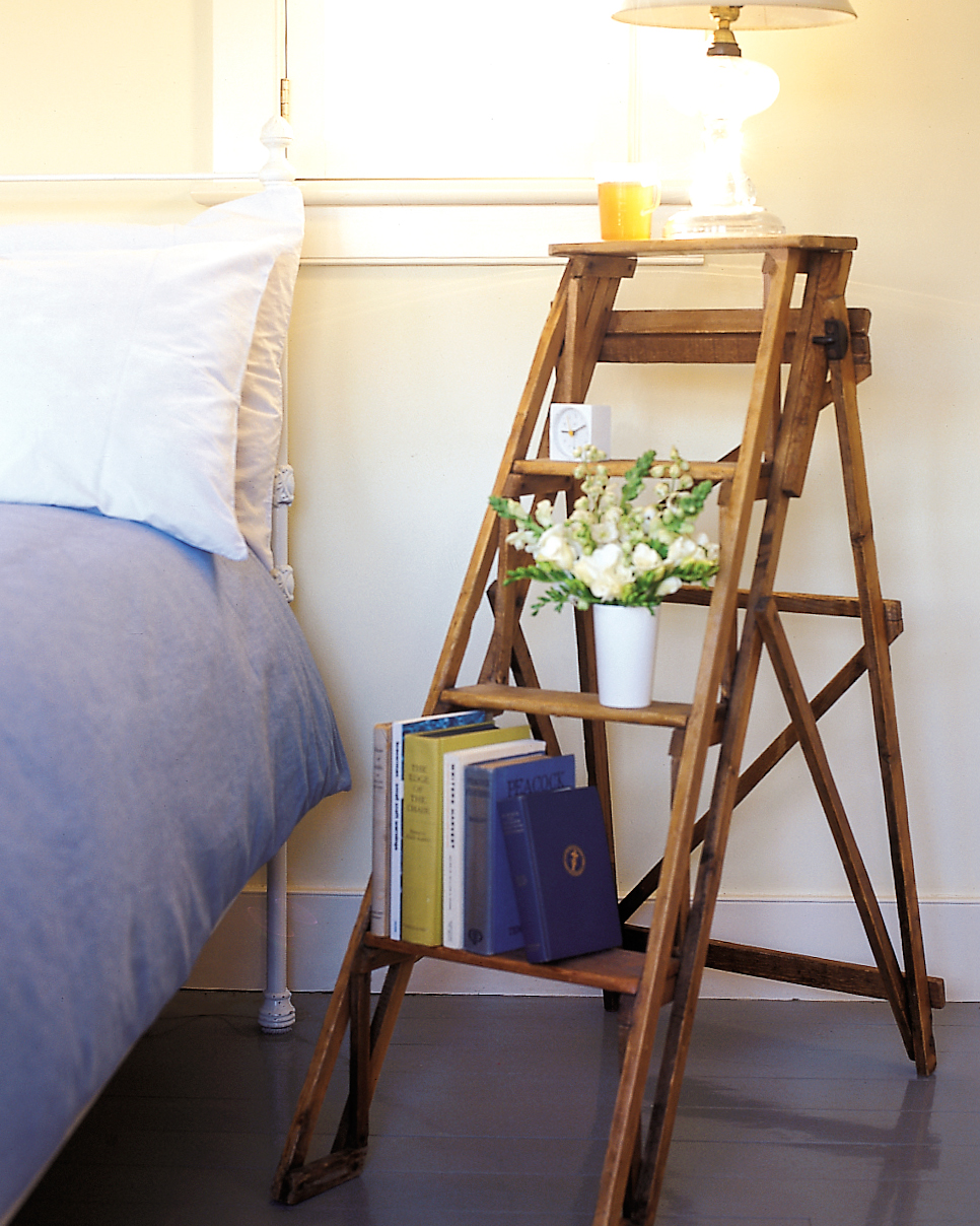 Try a Non-Traditional Nightstand
