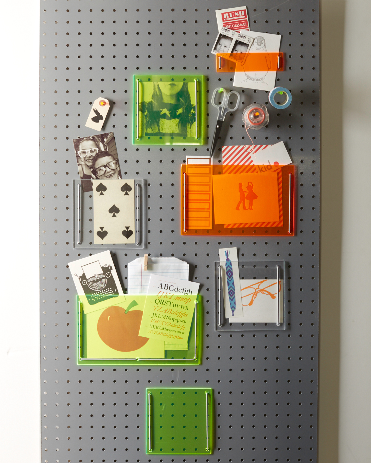 Wall-Mounted Pegboard