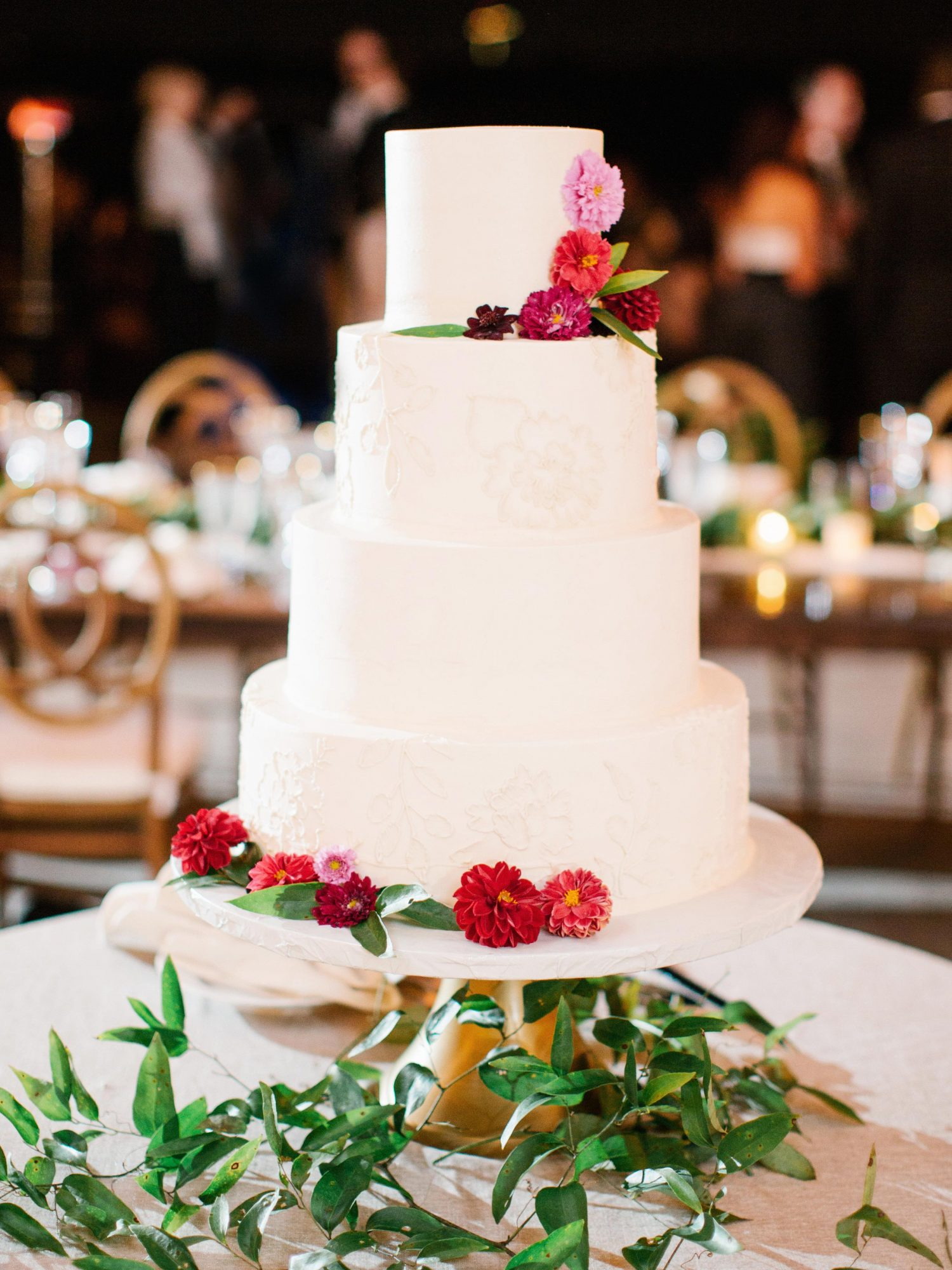 Stationery-Inspired Wedding Cake