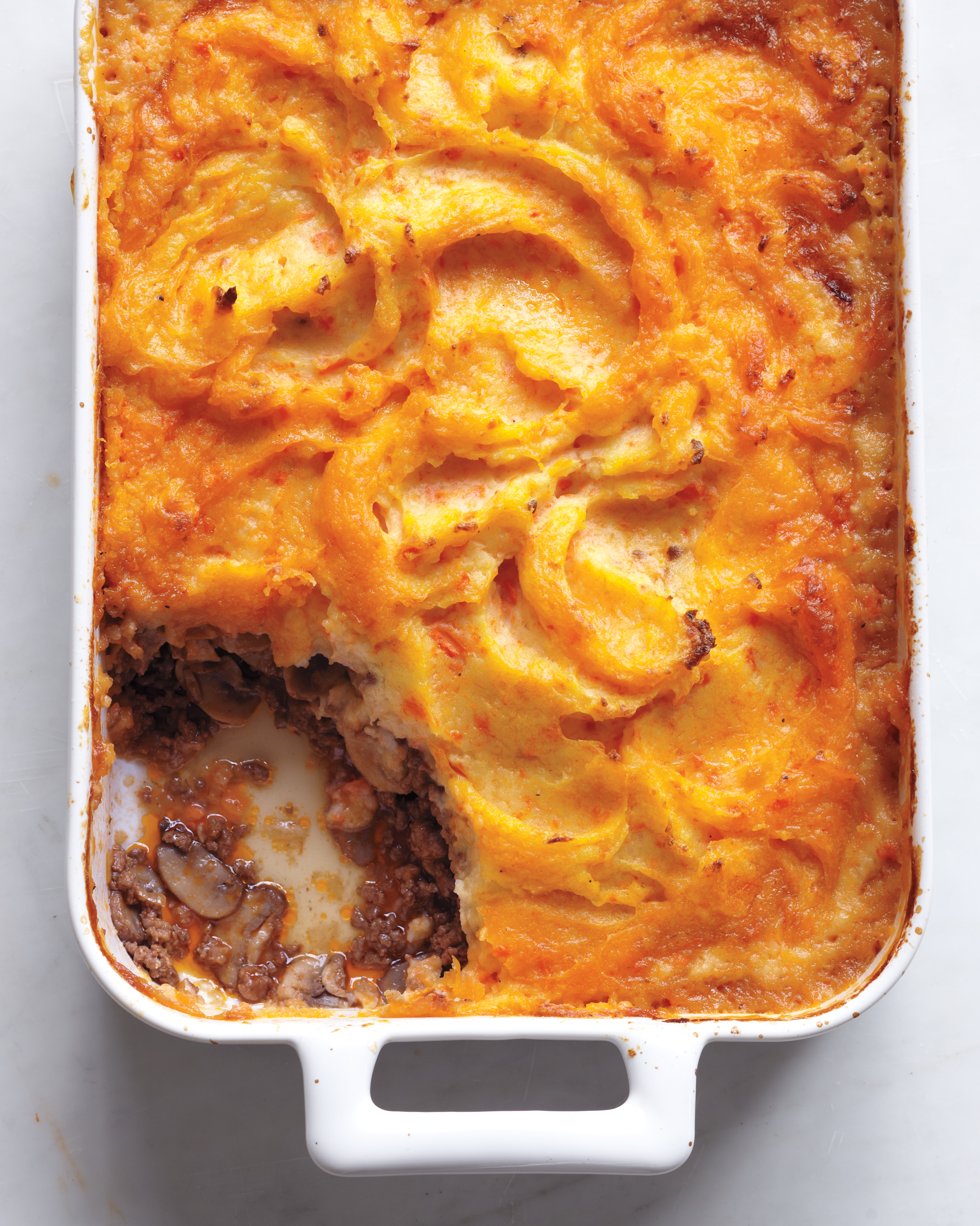 Ground Chuck: Cottage Pie with Vegetable Mash